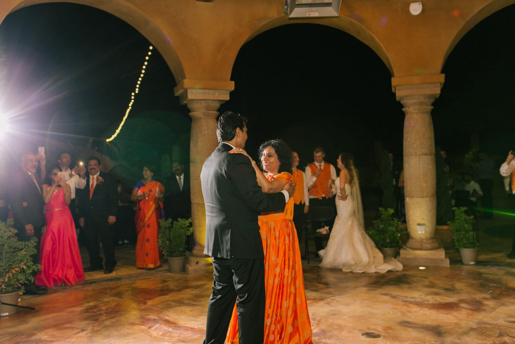 Mother son dance wedding at private residence South Mountain Phoenix