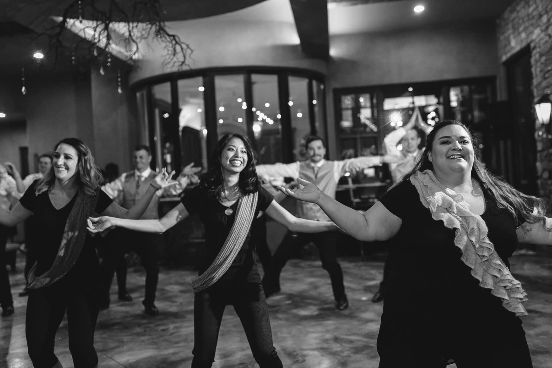 wedding party choreographed Bollywood dance Phoenix