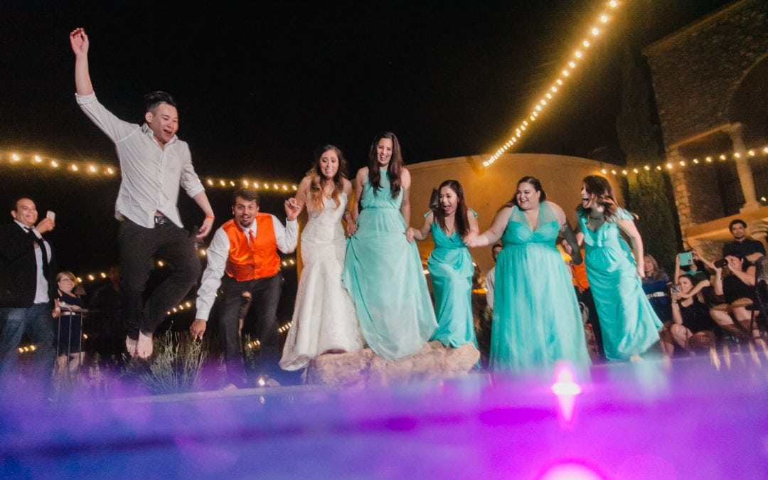 When Your Wedding Goes Underwater | Adventurous Tempe Wedding Photographer