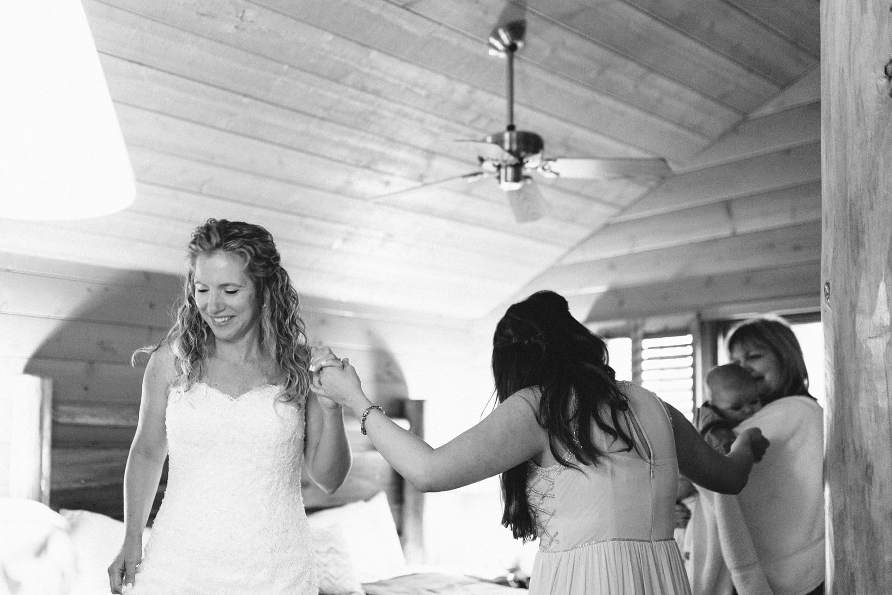 Sedona bride getting ready at Briar Patch Inn
