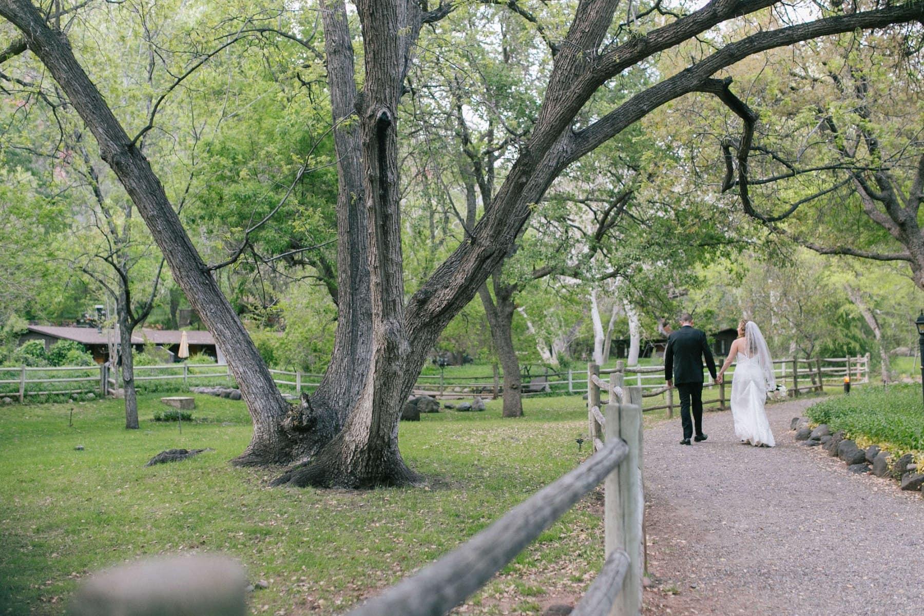 Briar Patch Inn wedding Sedona