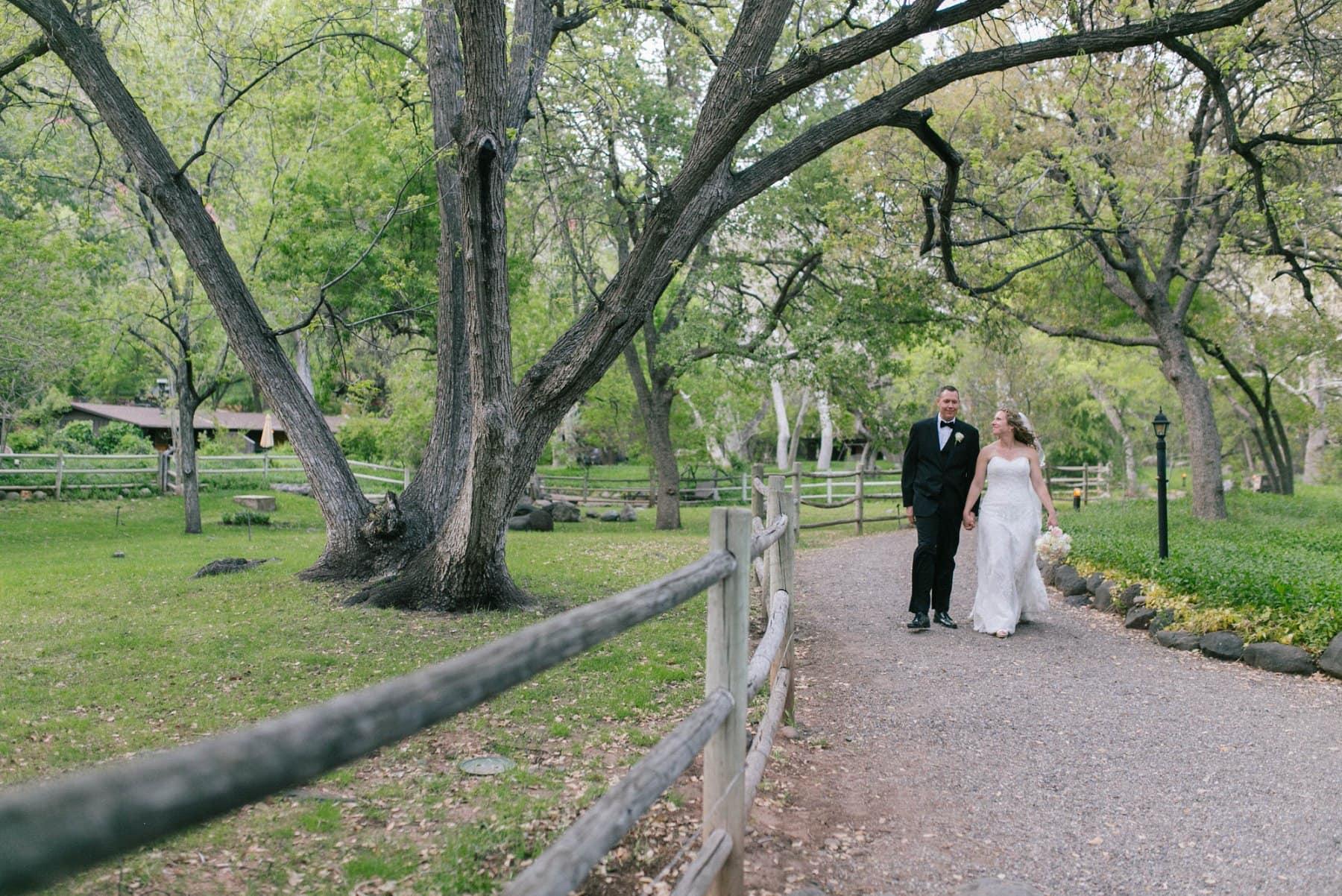 Briar Patch Inn wedding Sedona AZ