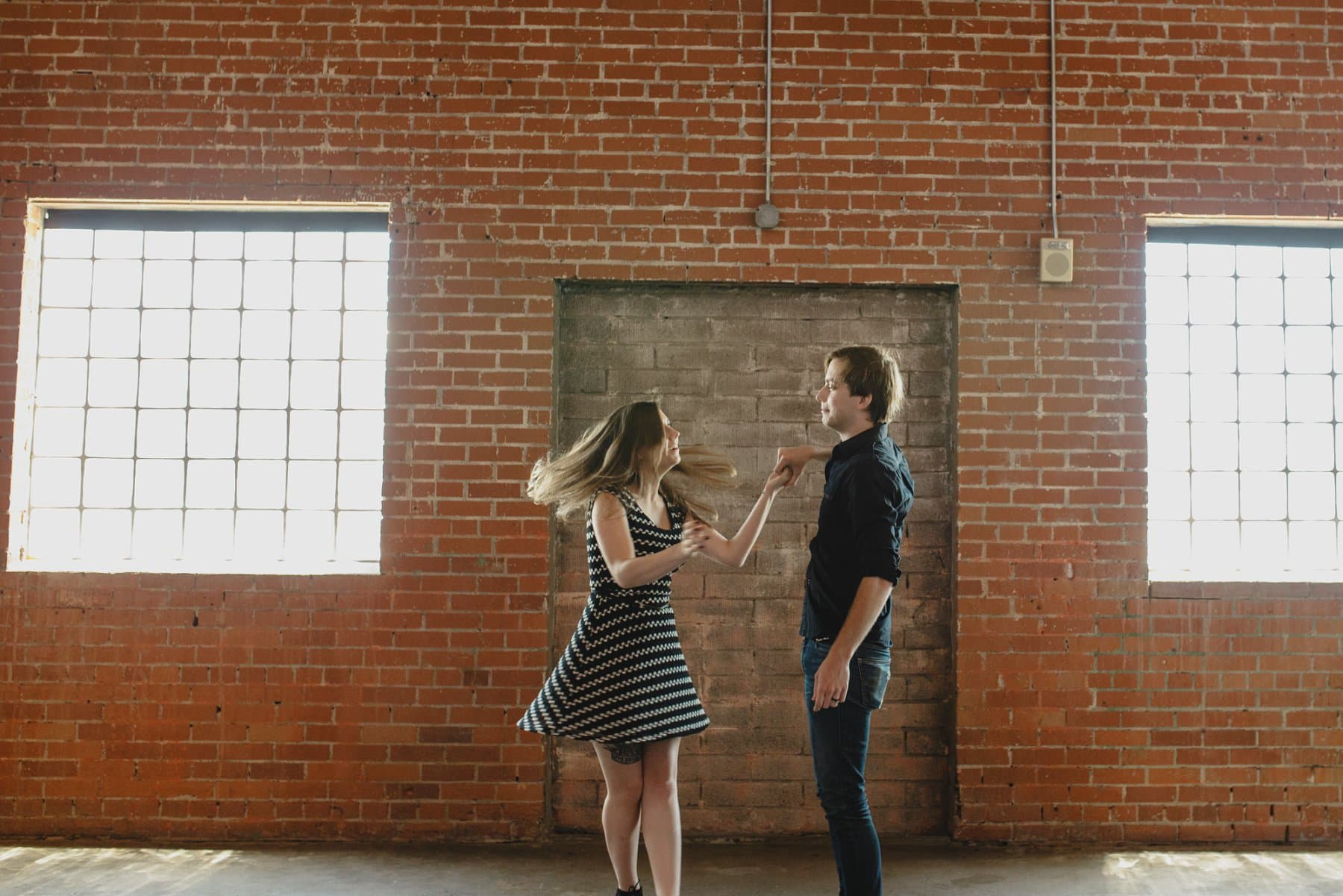 warehouse engagement photos Phoenix
