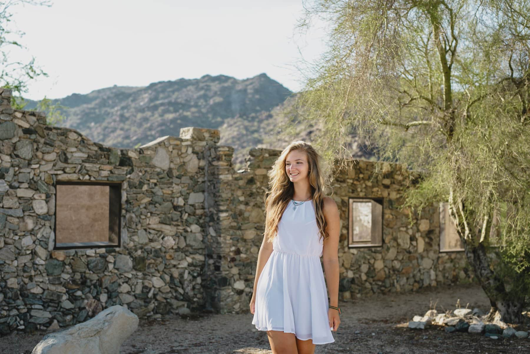 senior photos at Scorpion Gulch Phoenix