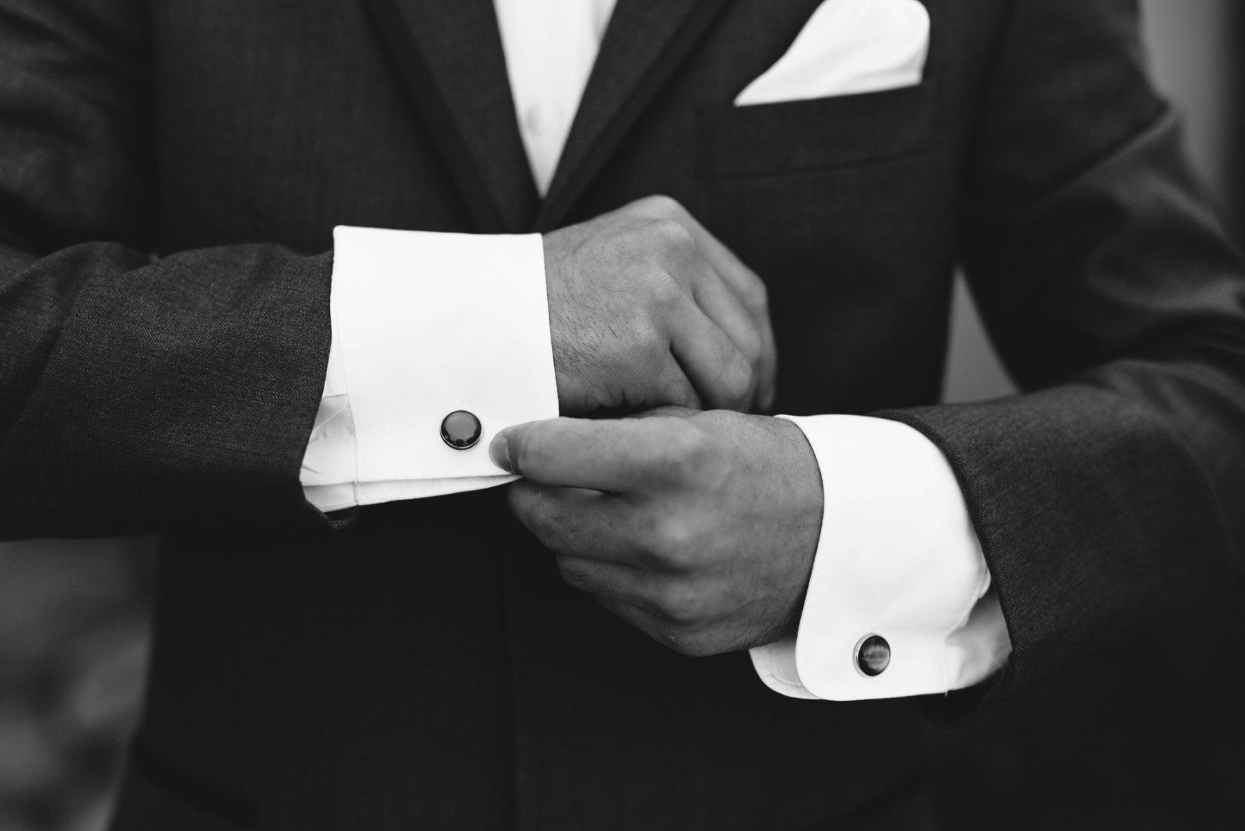 groom cuff links Superstition Manor