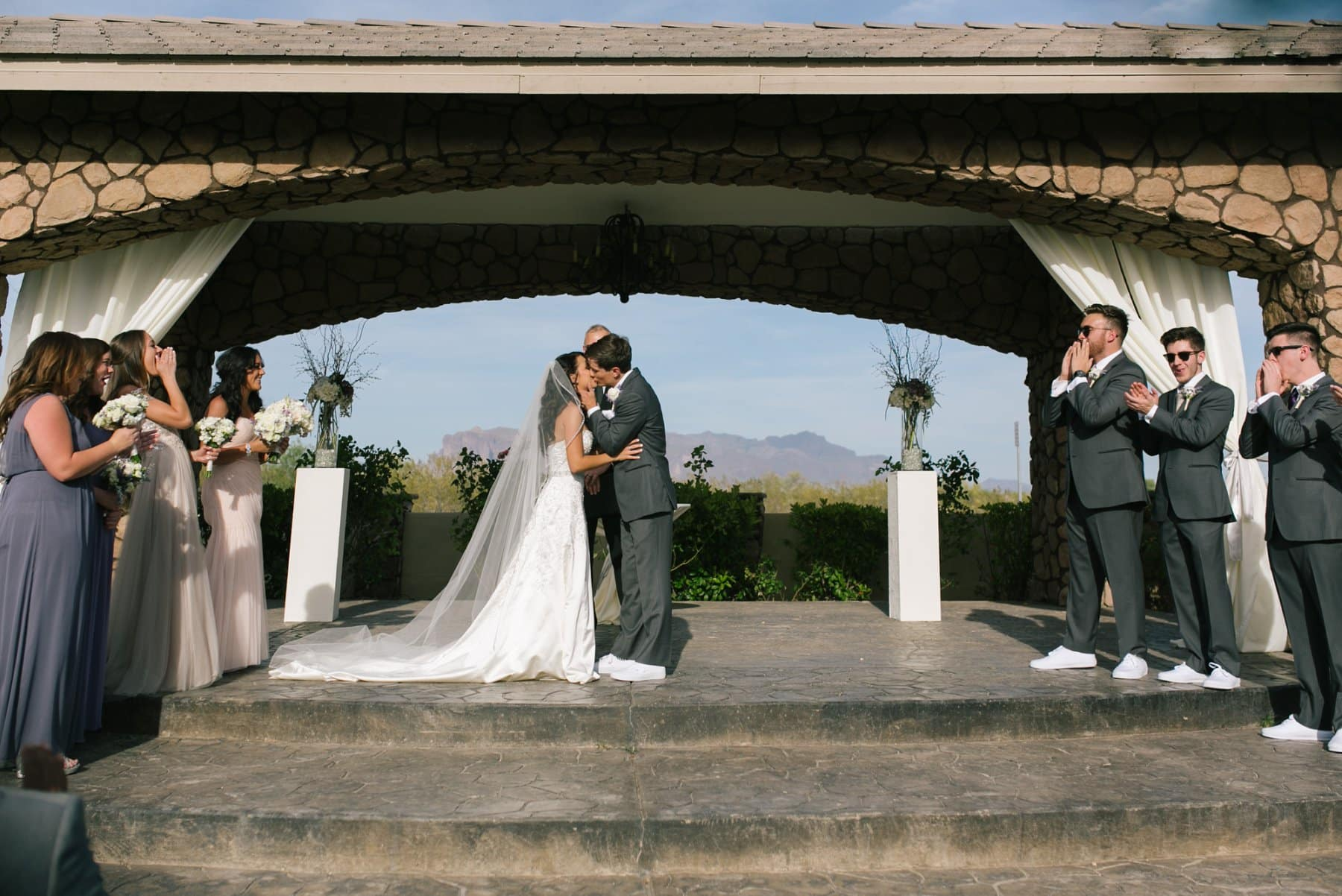Superstition Manor wedding ceremony