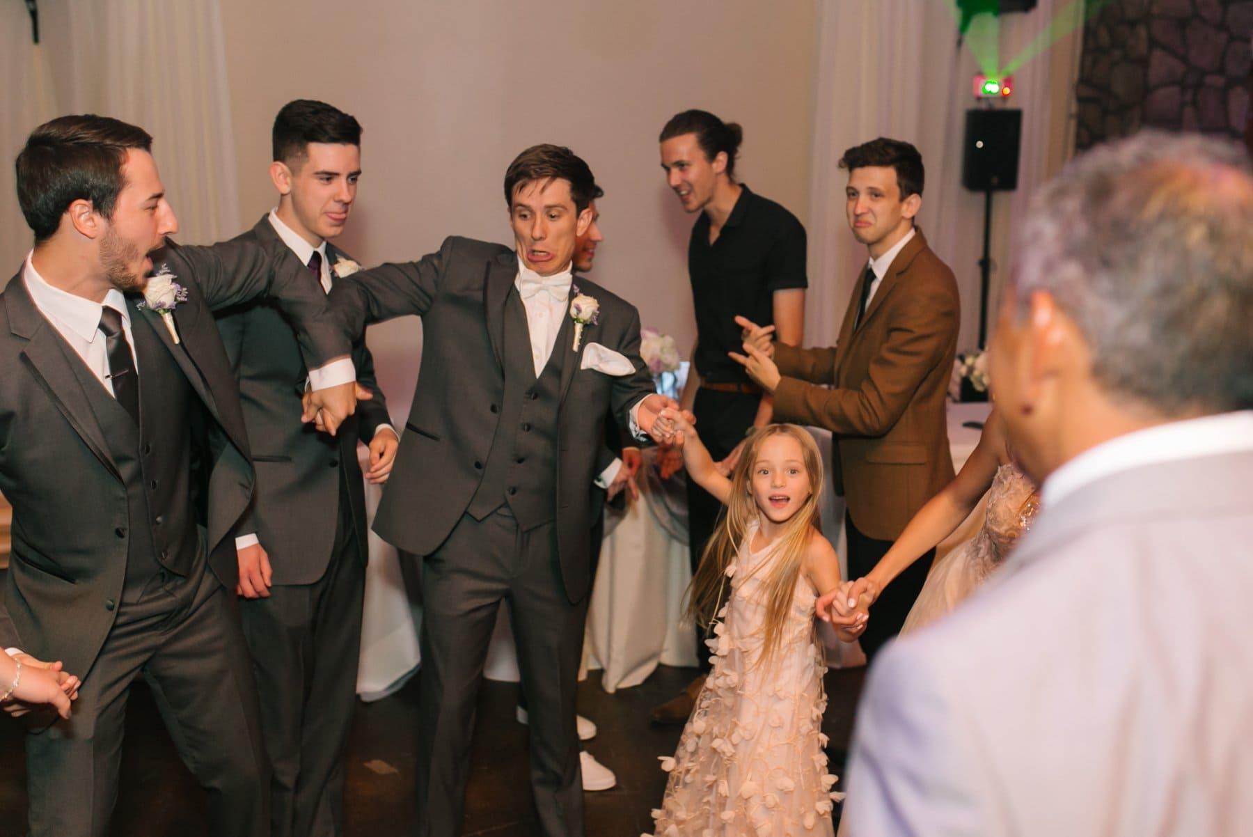 Superstition Manor wedding reception dance