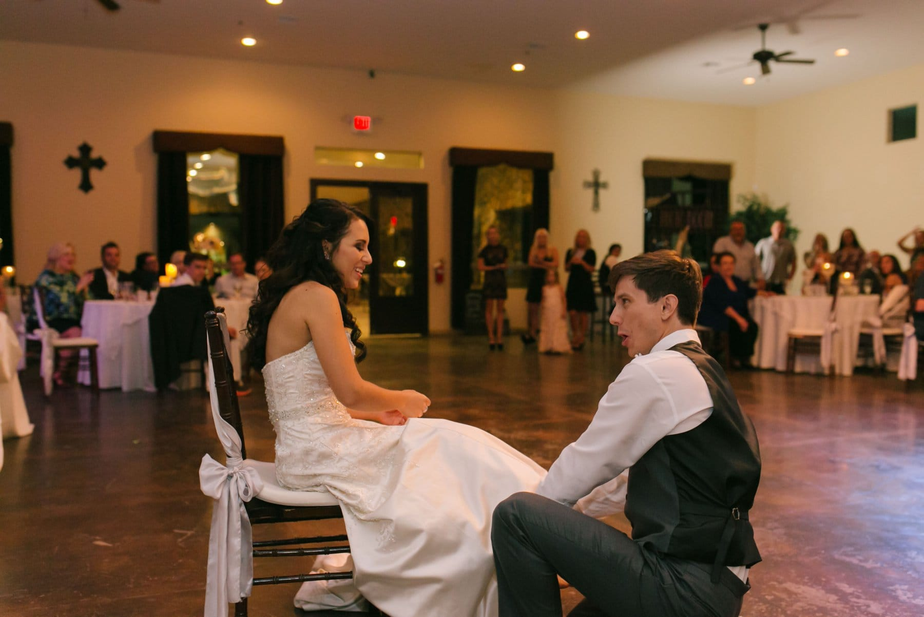 garter ross Superstition Manor wedding