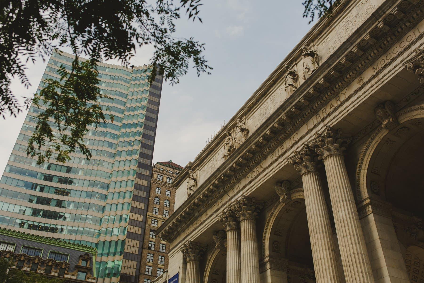 New York Public Library Manhattan Bryant Park