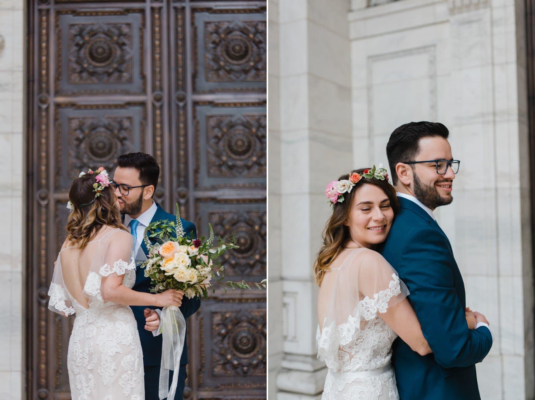 wedding at New York Public Library Manhattan