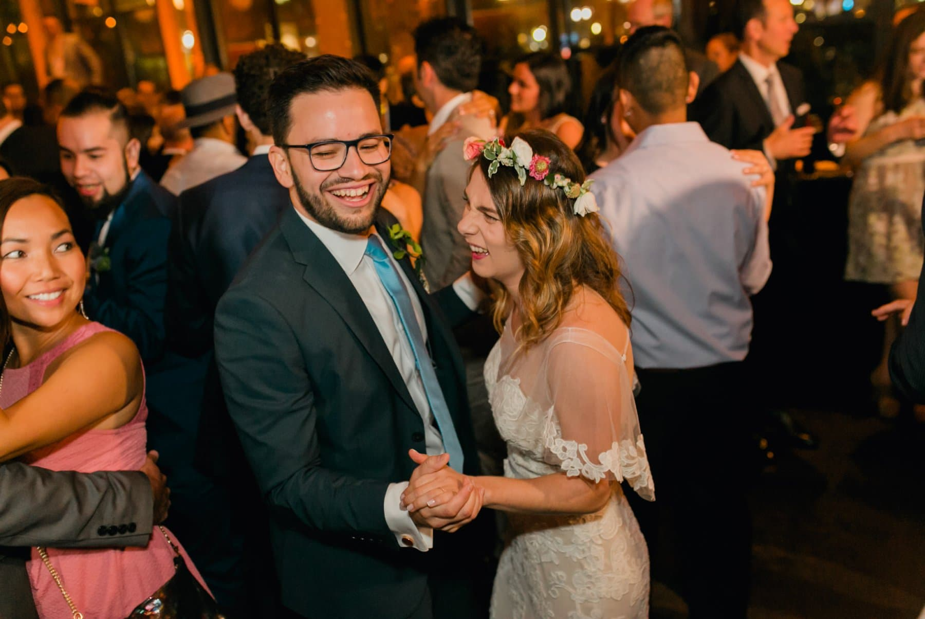 Bryant Park Grill wedding reception first dance