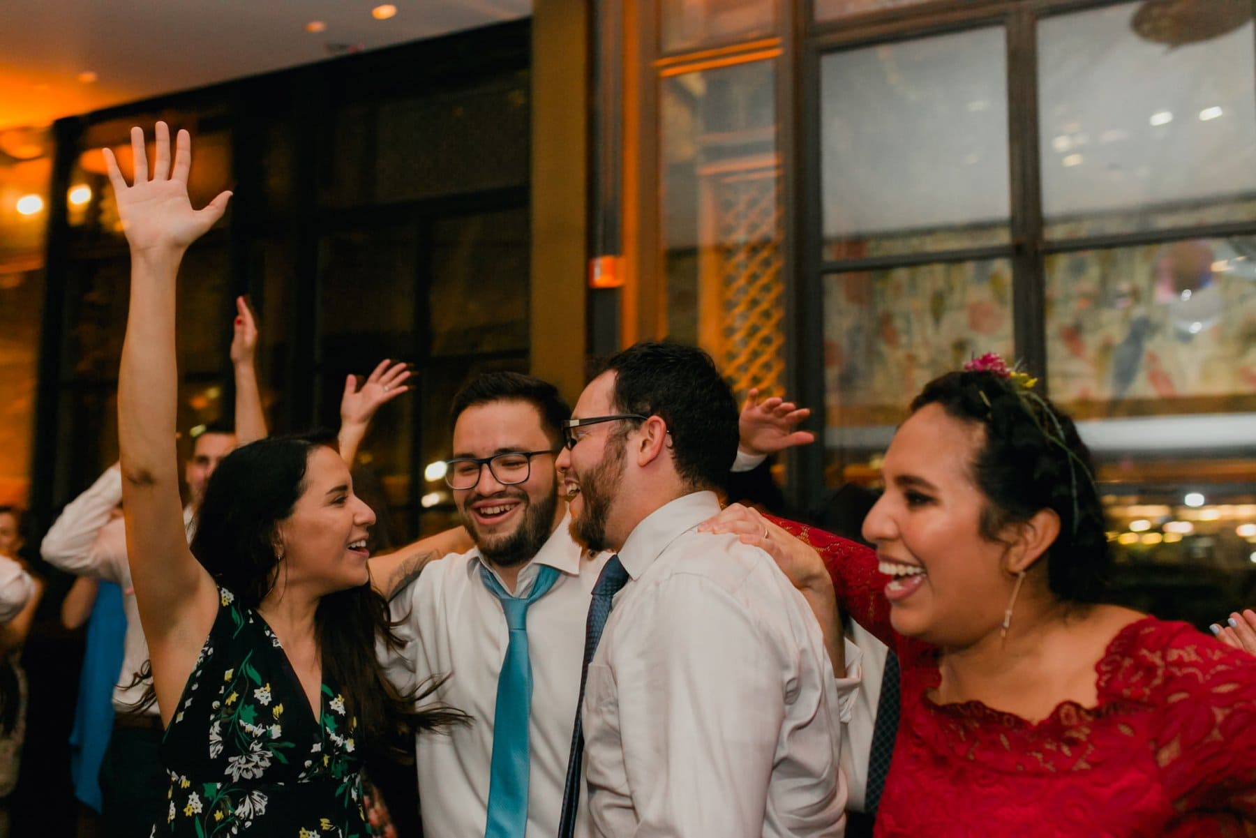 Bryant Park Grill wedding reception dancing