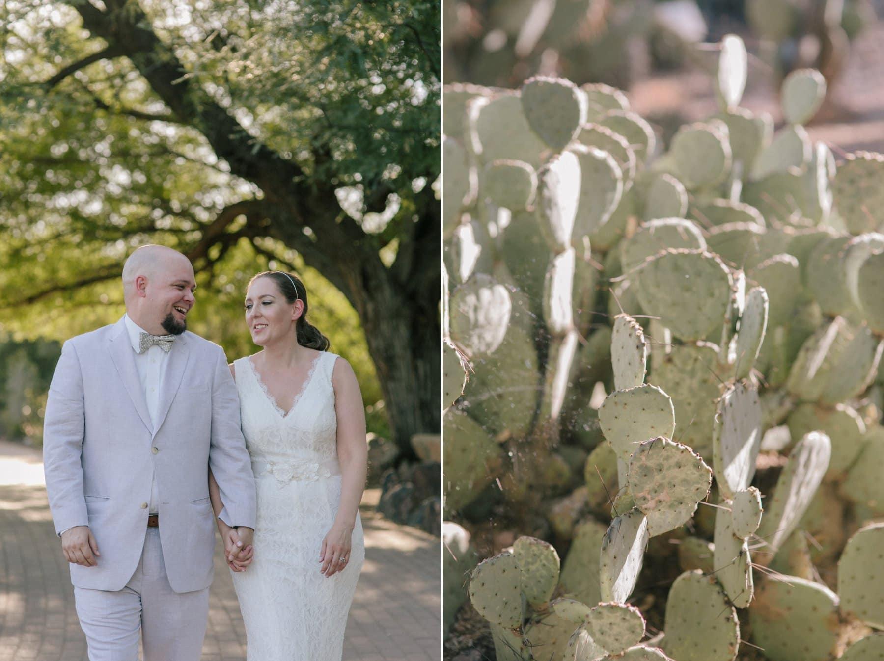Desert Botanical Gardens elopement Phoenix
