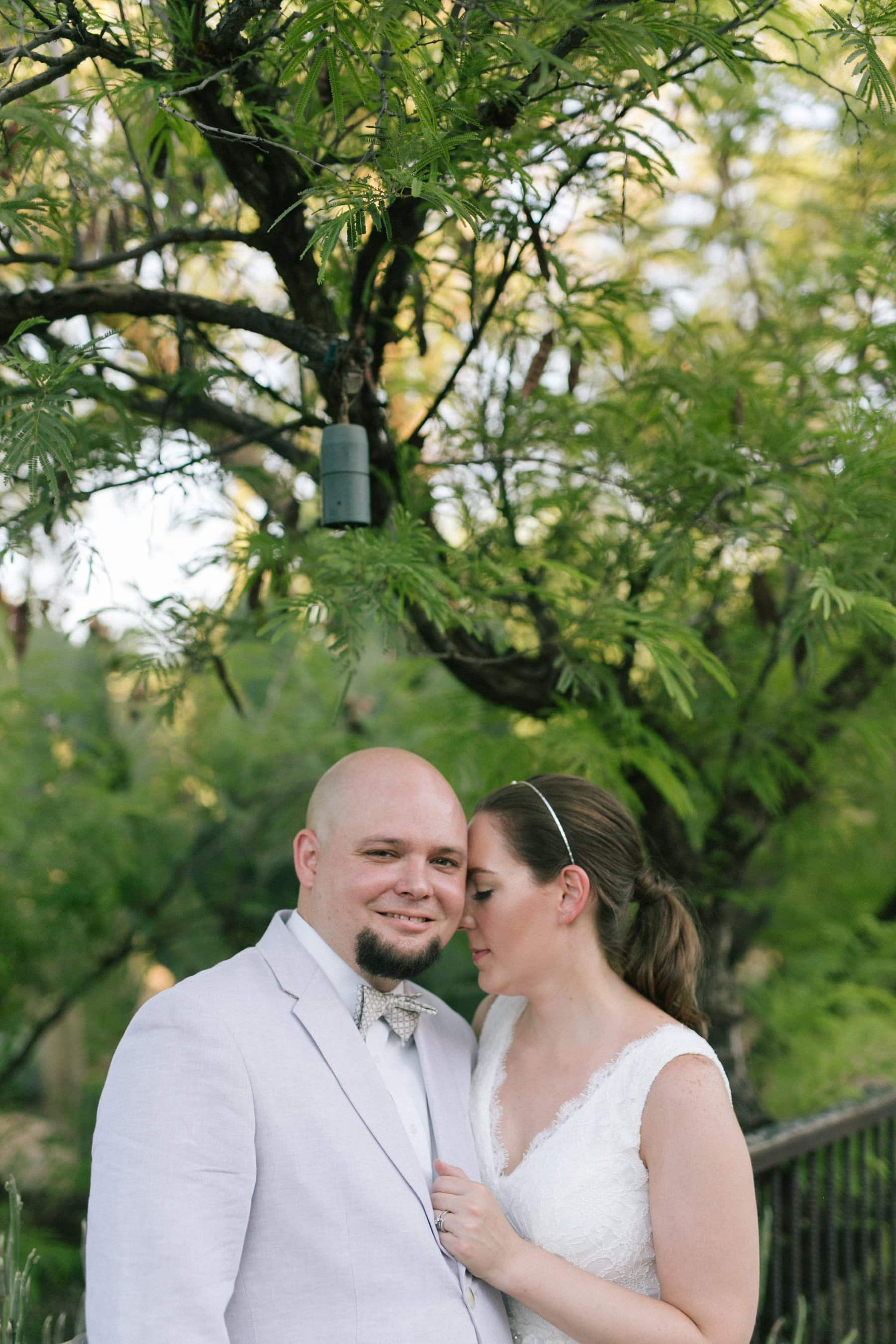 Desert Botanical Gardens wedding photos