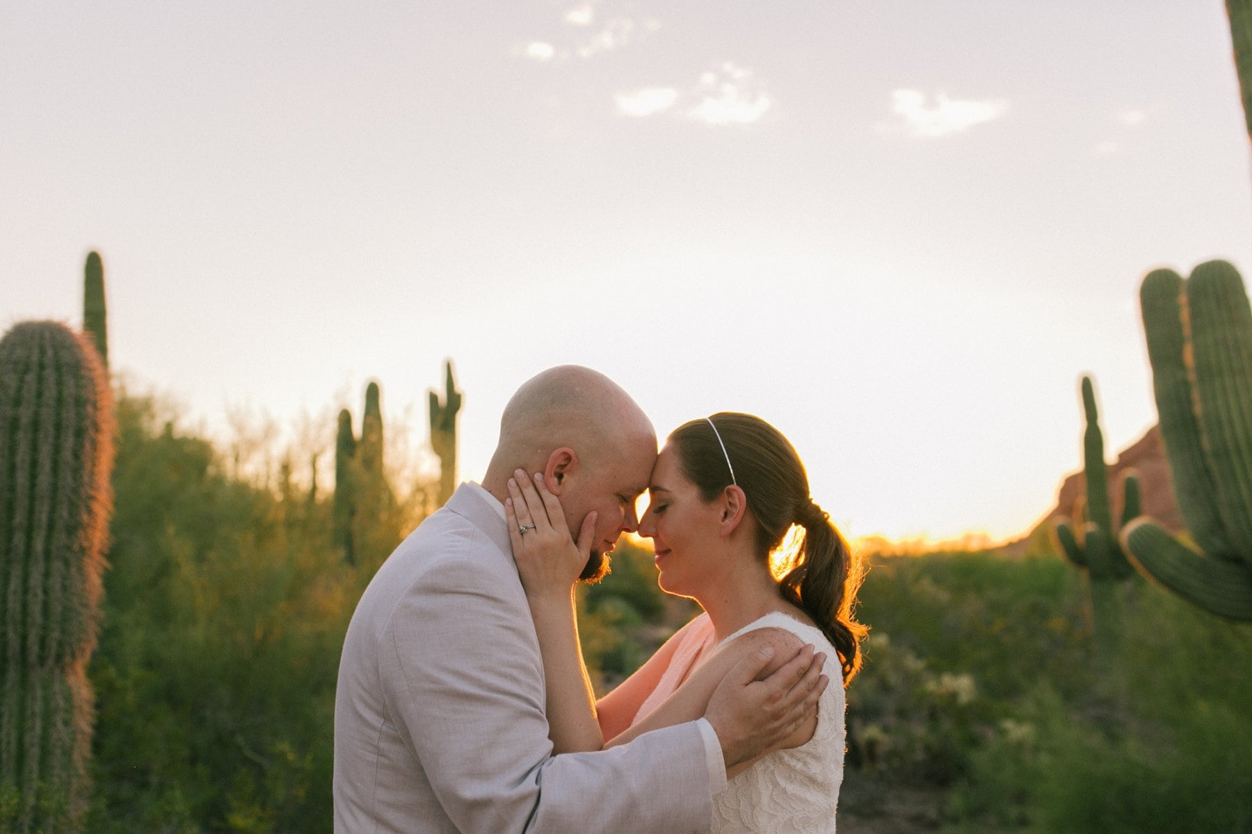 Phoenix wedding photos near Papago Park
