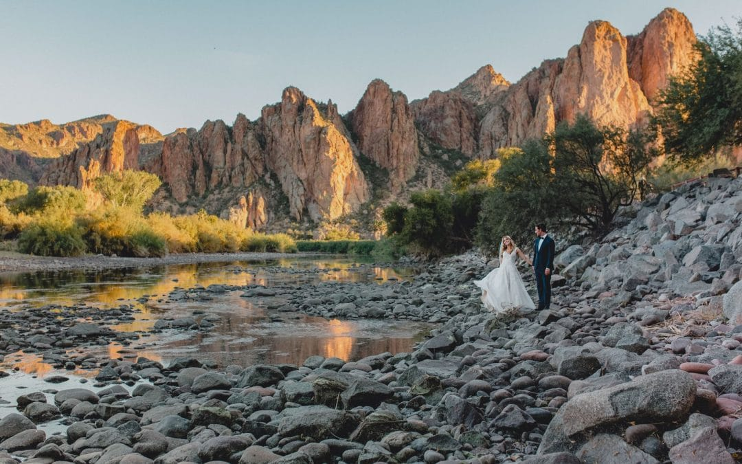 Rustic Outdoorsy Saguaro Lake Ranch Wedding | Andria & Michael