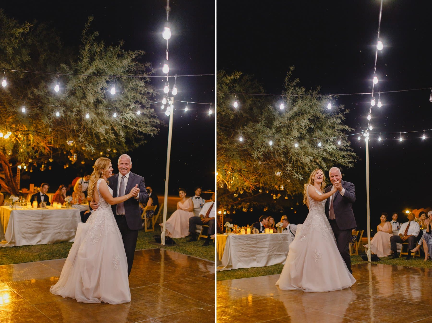 father daughter dance wedding reception Saguaro Lake Ranch