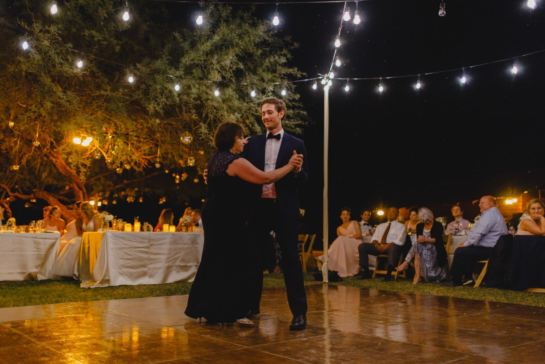 mother son dance at Saguaro Lake Ranch wedding