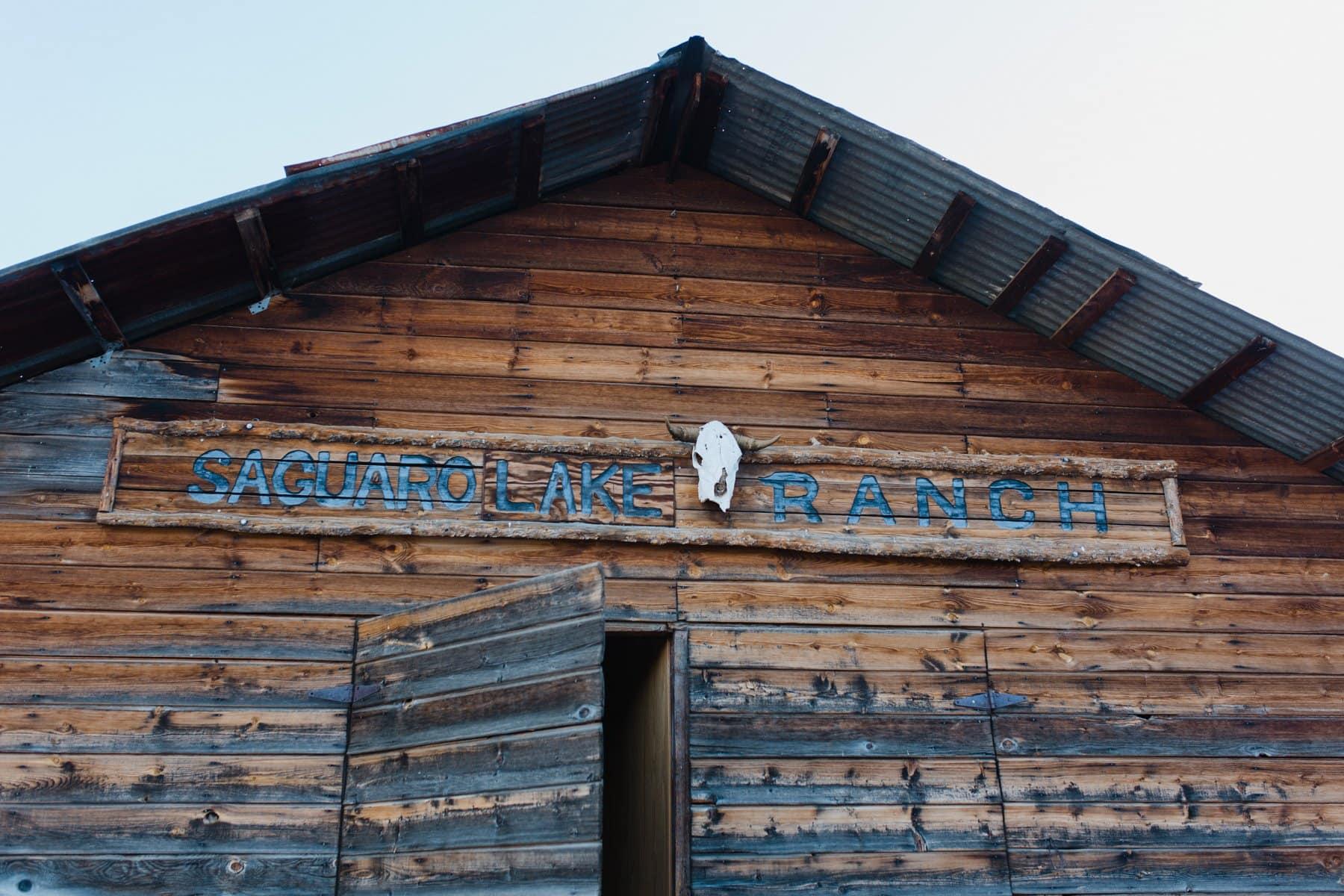 Saguaro Lake Ranch barn