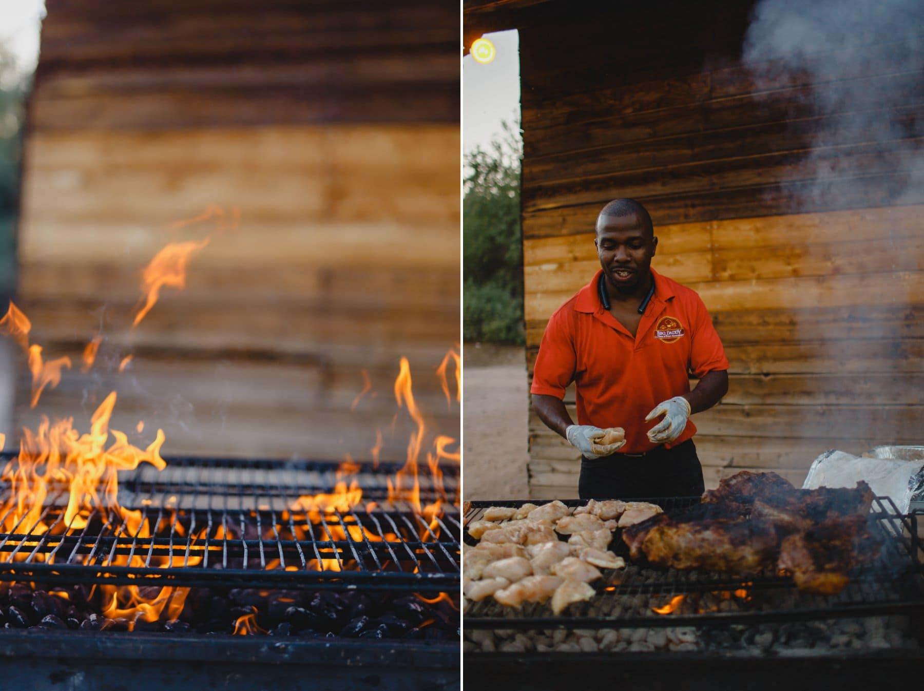 BBQ Daddy food catering at Saguaro Lake Ranch