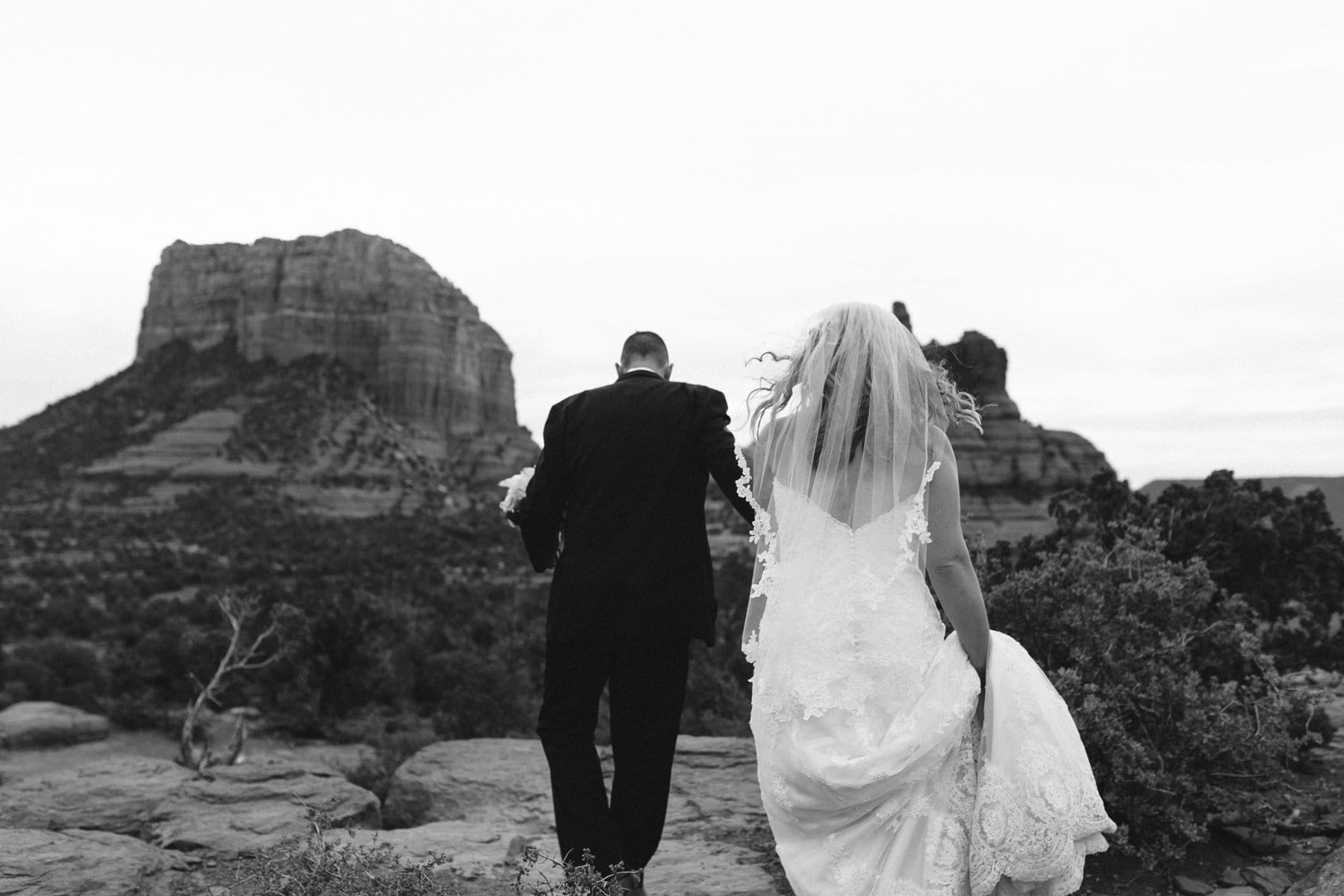 Yavapai Point Sedona wedding photos