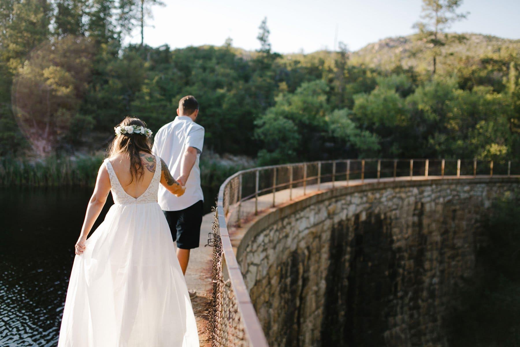 adventure elopement in northern Arizona Prescott National Forest