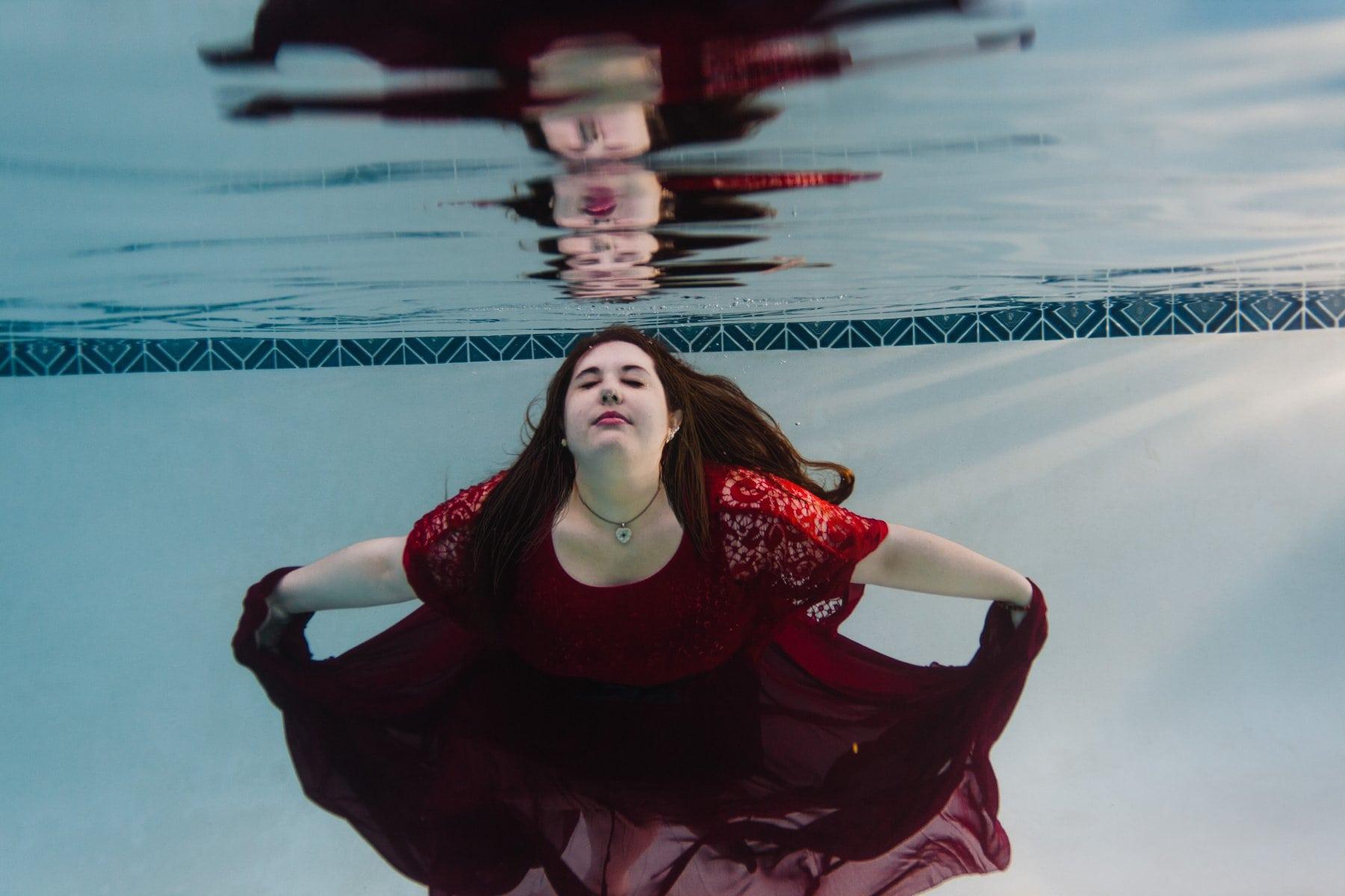 underwater portraits Arizona