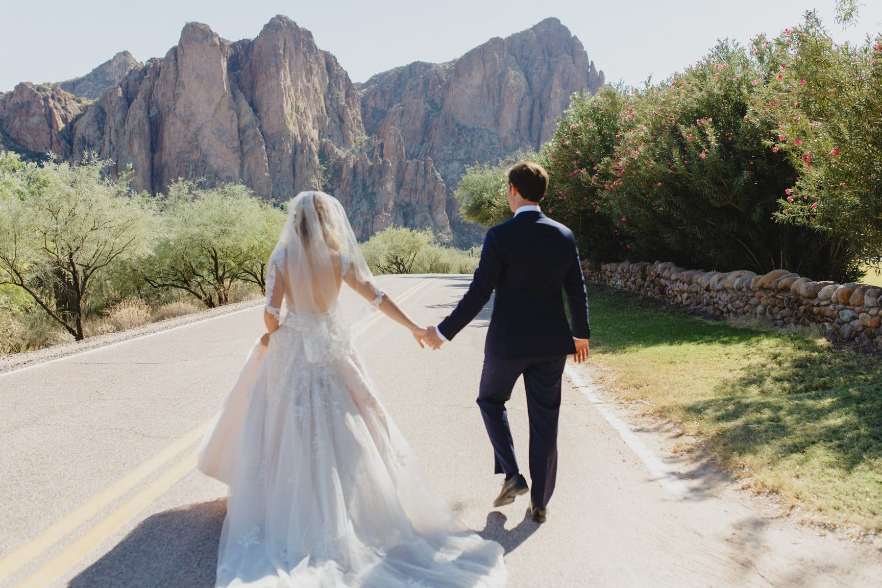 rustic scenic outdoorsy desert wedding venue Saguaro Lake Ranch
