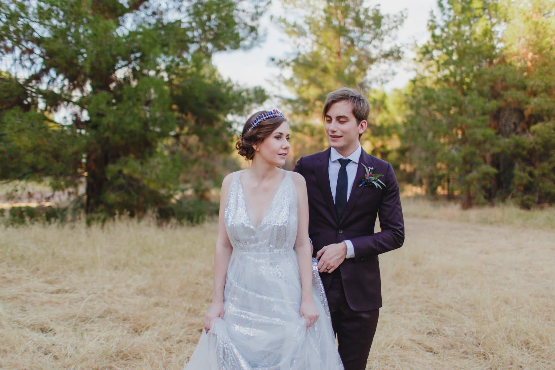 Schnepf Farms wedding photos Meadow venue