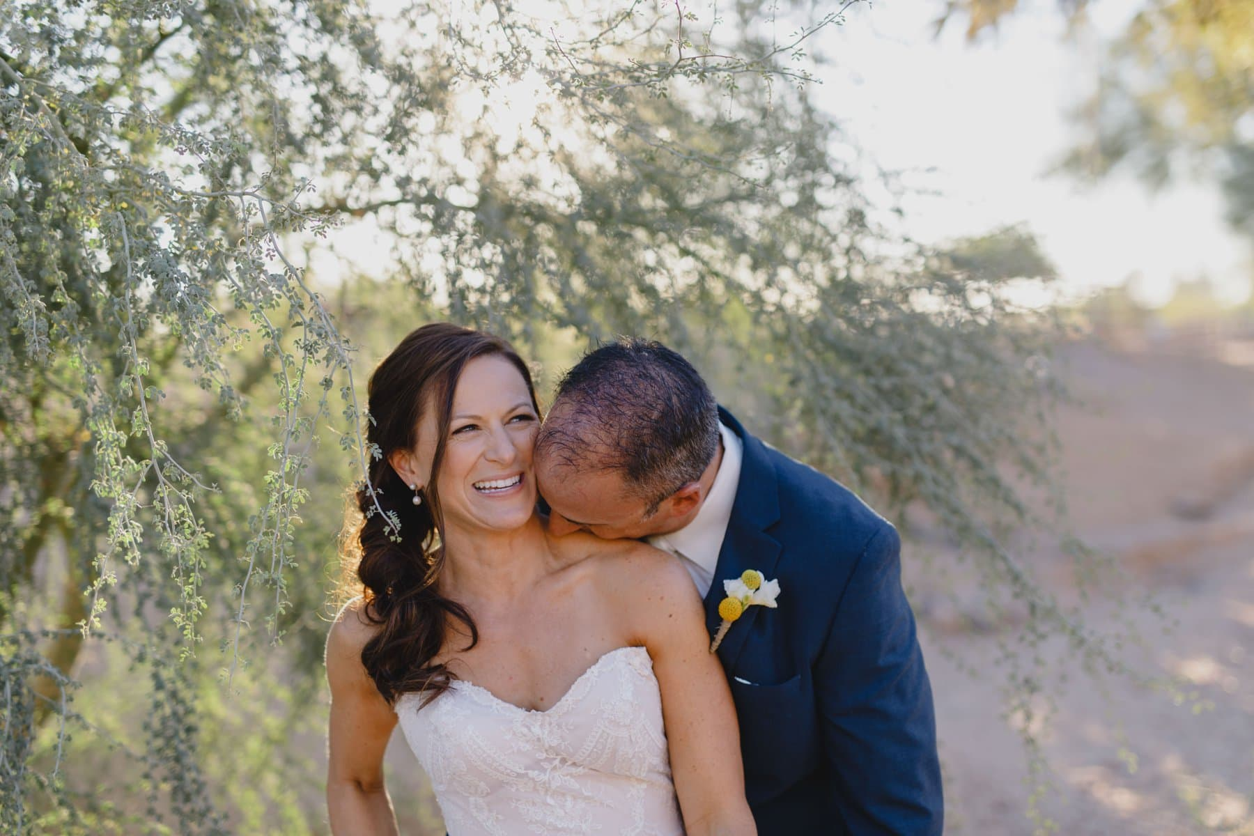 natural genuine joyful Arizona elopement photos