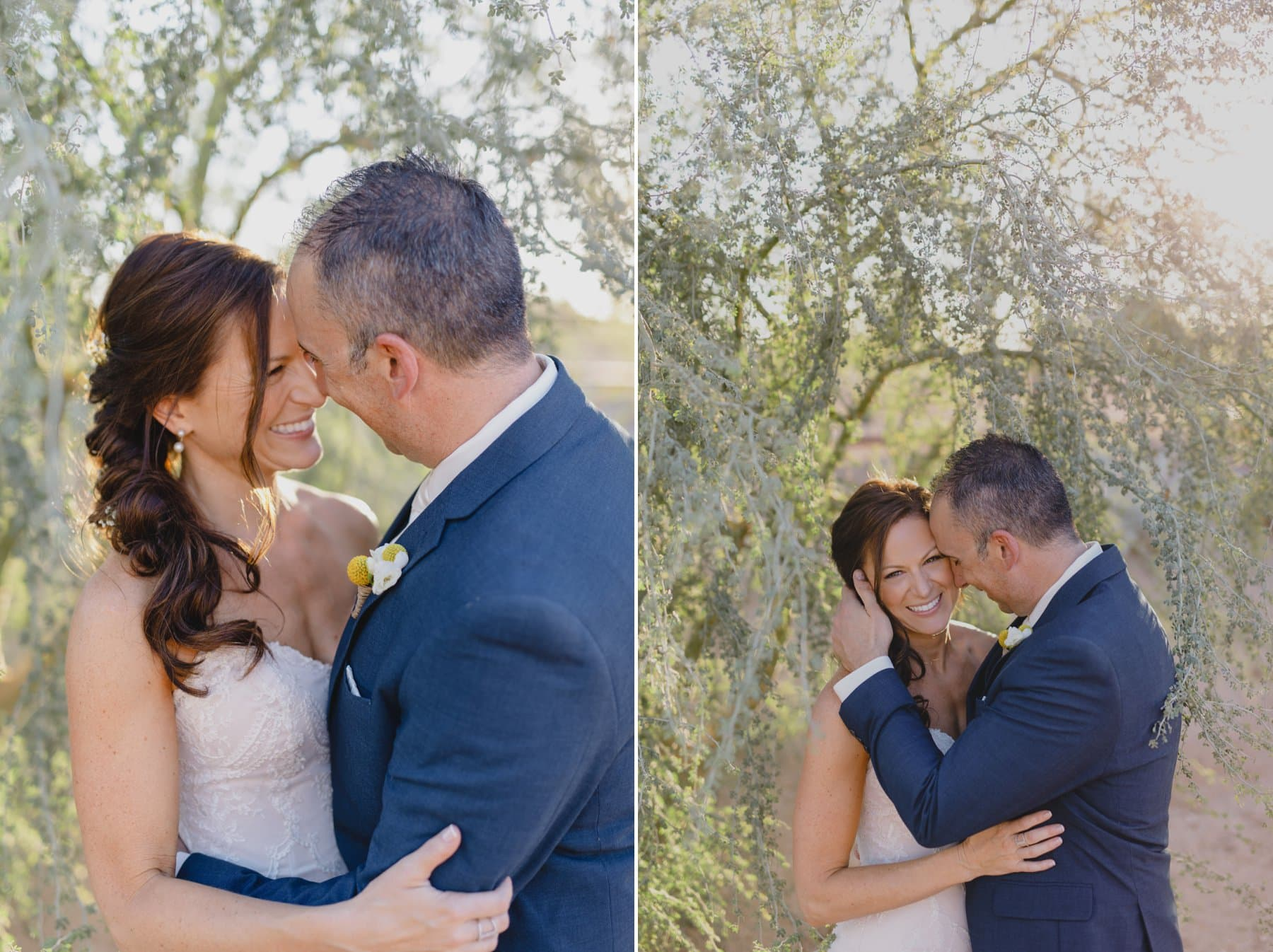 natural genuine joyful Arizona wedding photos