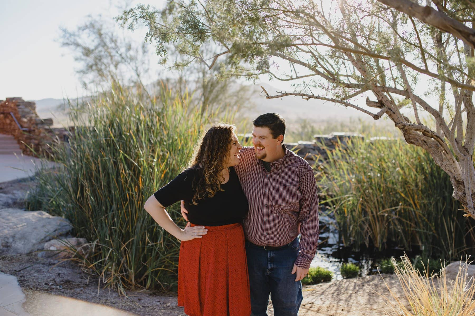 natural lifestyle engagement photos Arizona