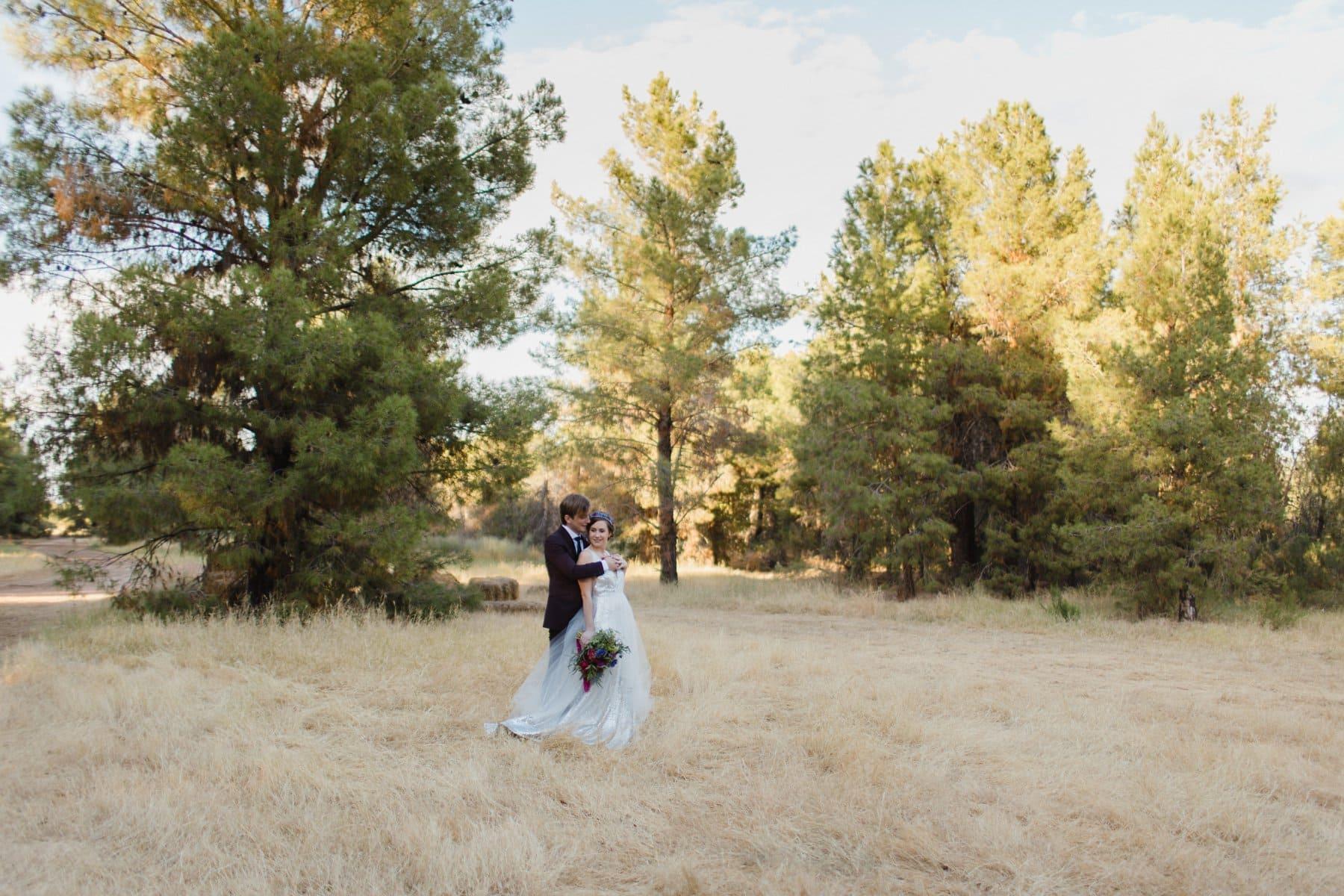 Schnepf Farms the Meadow forest wedding venue in Phoenix