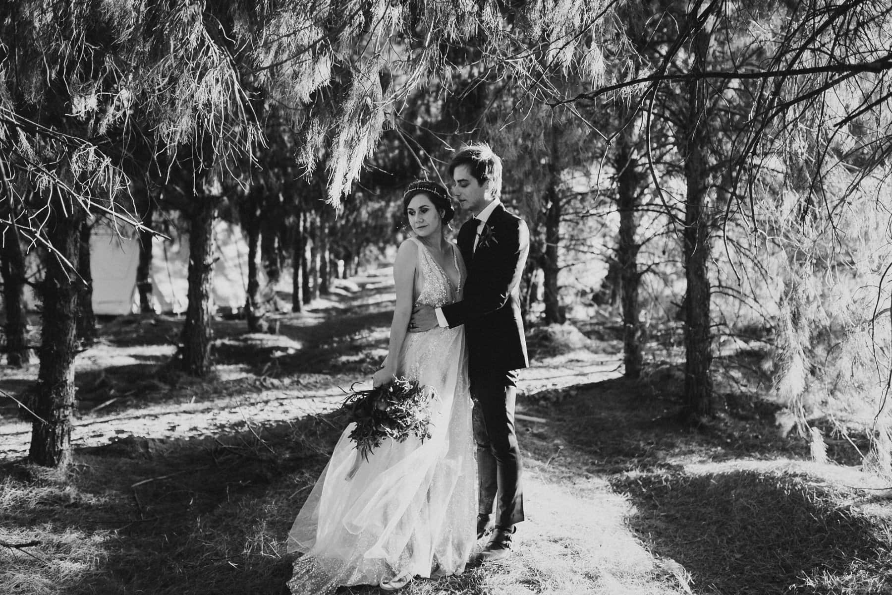 Schnepf Farms forest wedding in Phoenix