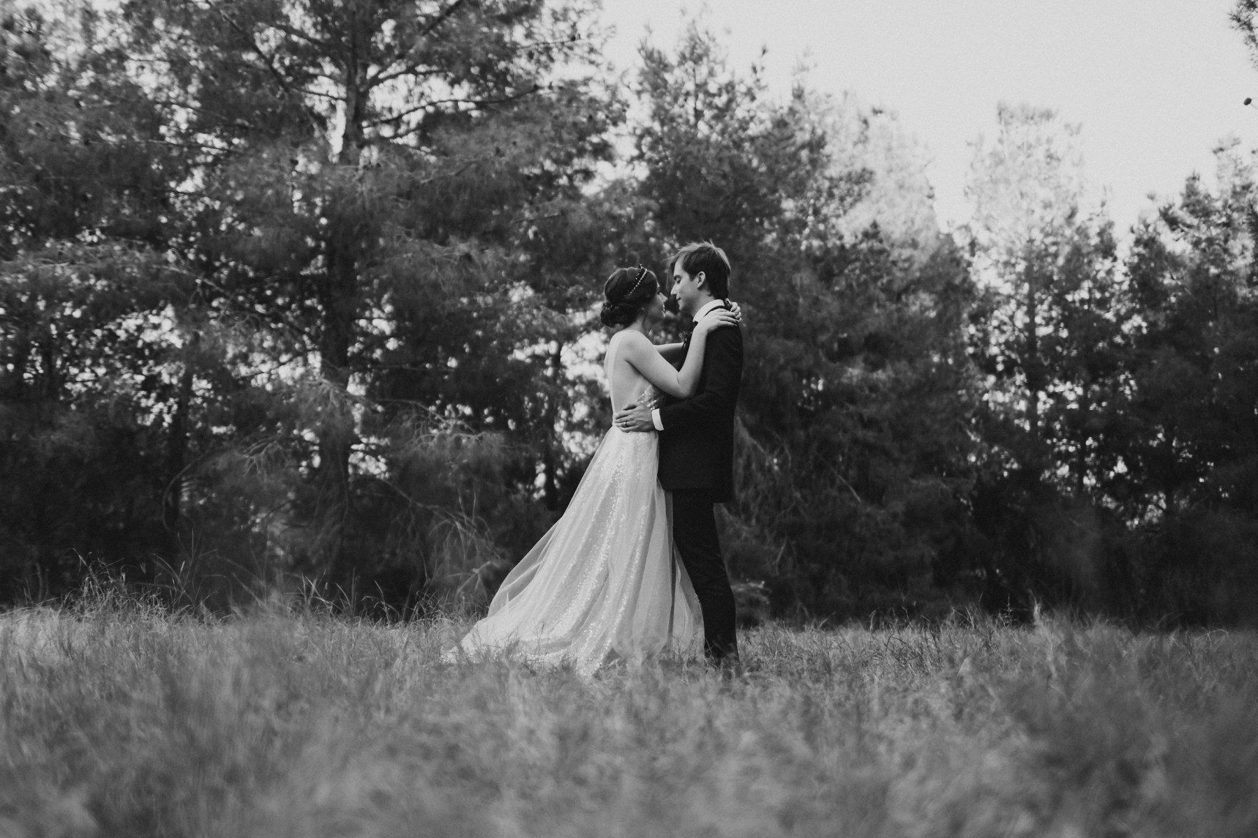 forest wedding venue in Phoenix Schnepf Farms