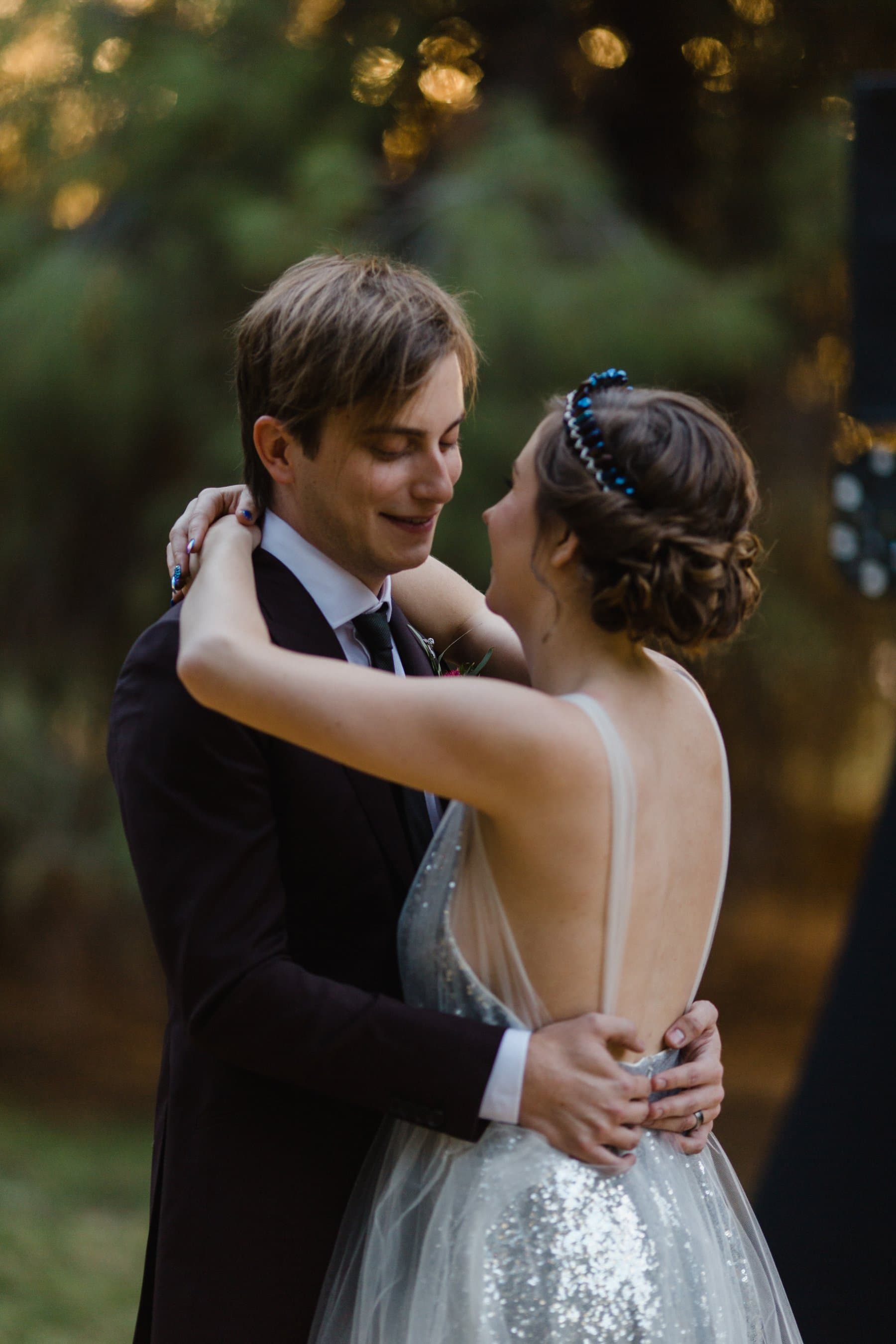 first dance at the Meadow Schnepf Farms wedding photographer