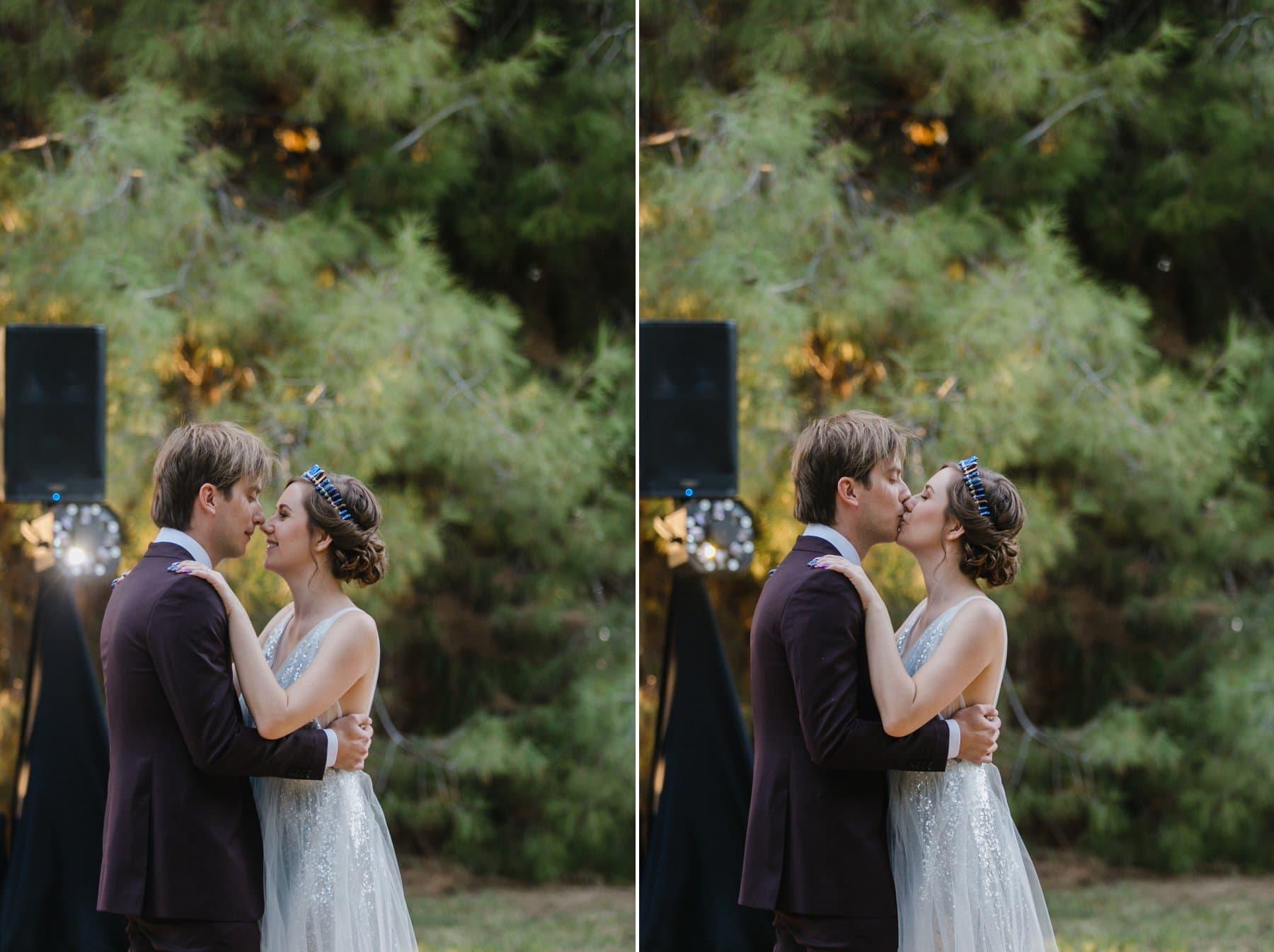 first dance Schnepf Farms the Meadow wedding