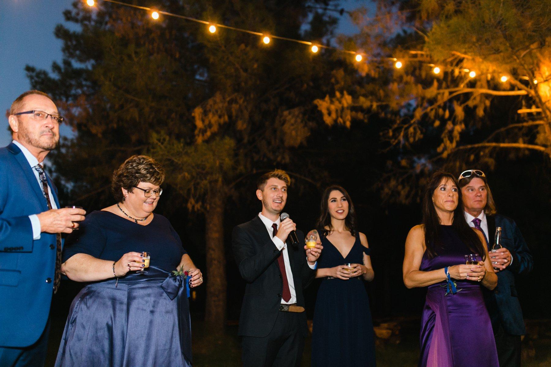 the Meadow Schnepf Farms wedding reception outdoor venue