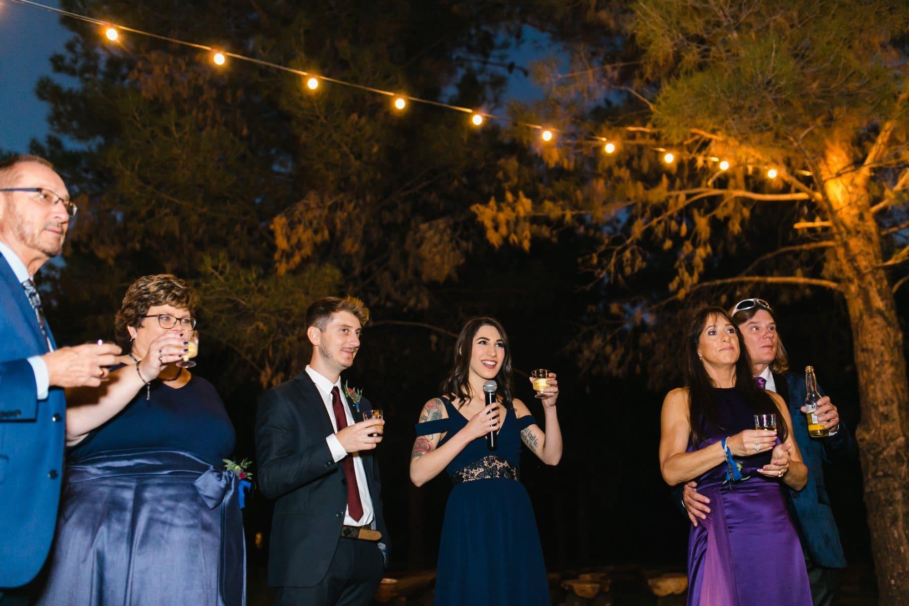Schnepf Farms outdoor wedding venue reception