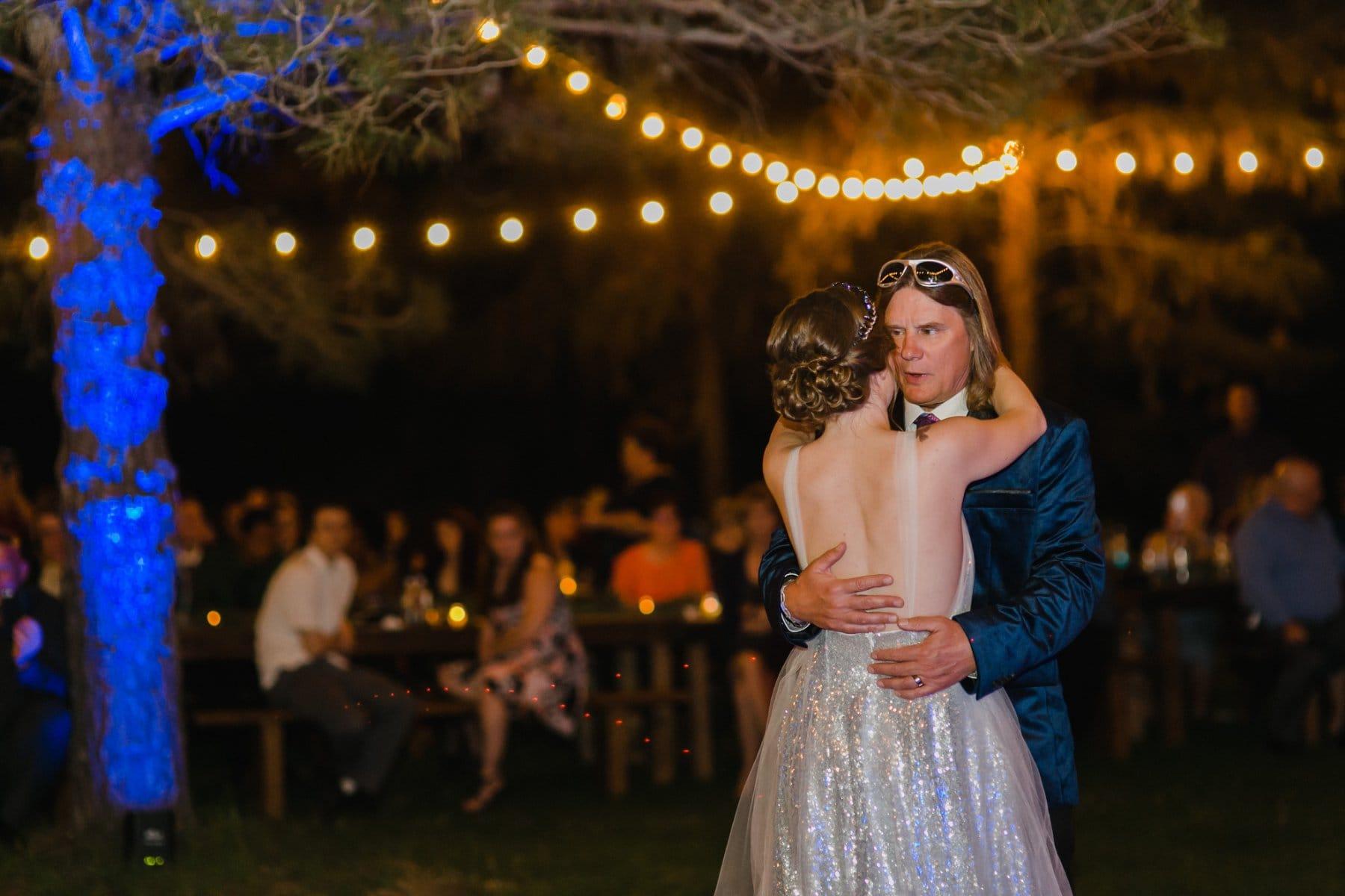 wedding reception at the Meadow Schnepf Farms