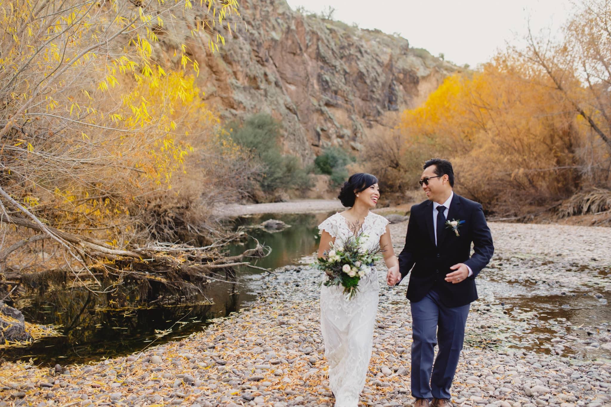 Salt River elopement Arizona
