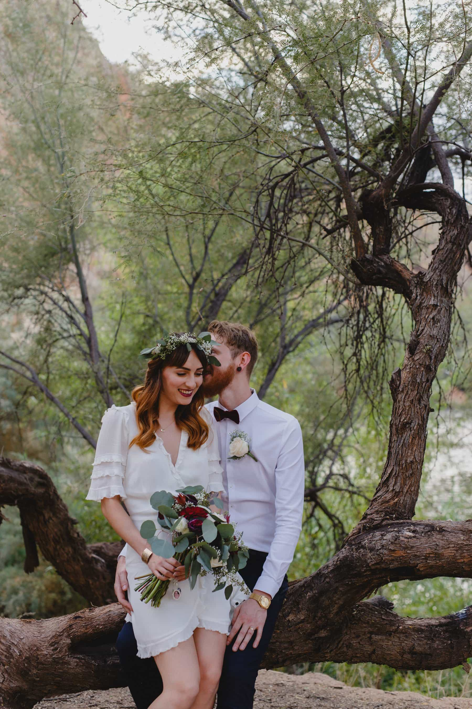 Arizona outdoor elopement desert alternative
