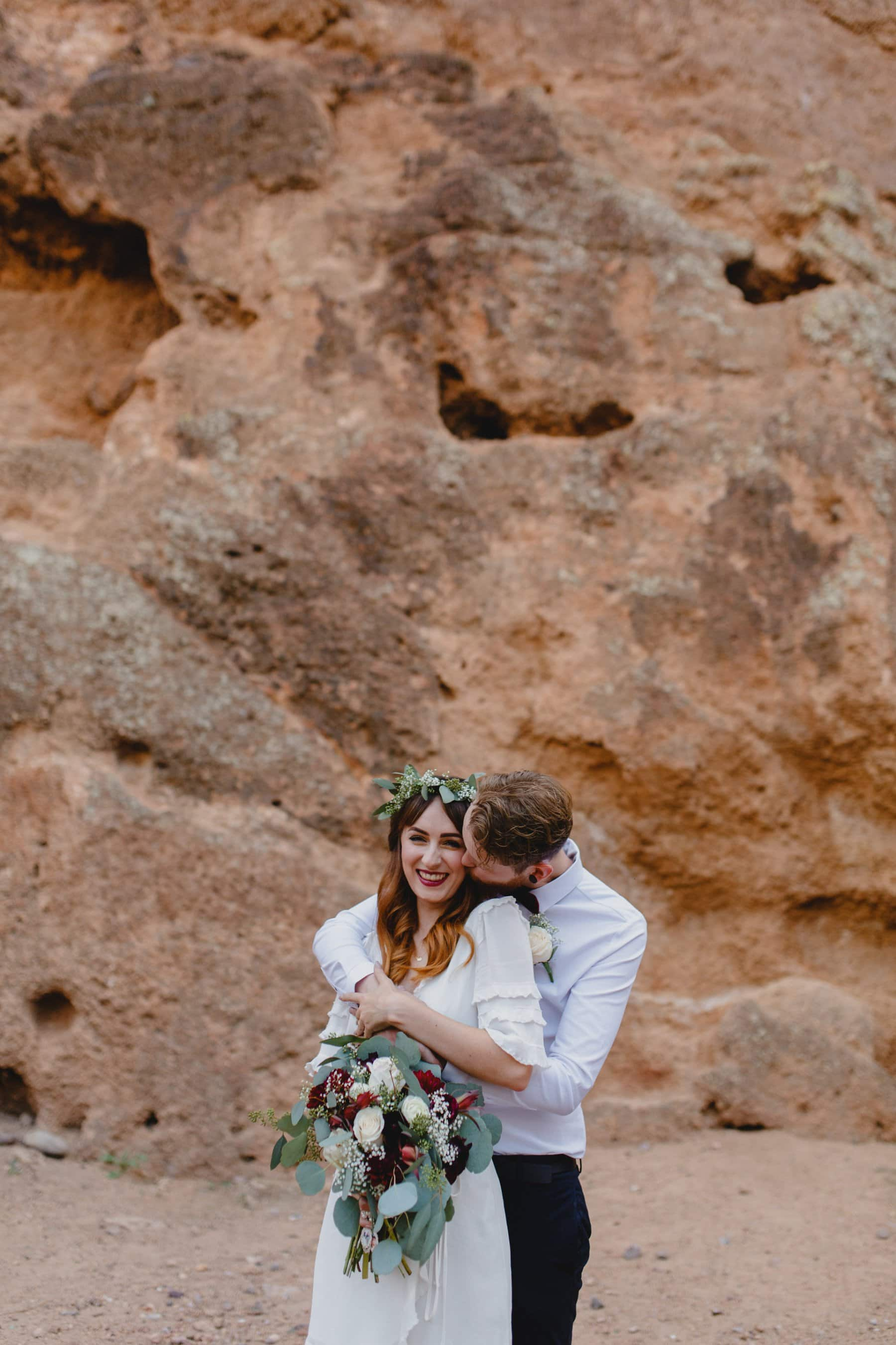 red rocks elopement in Phoenix