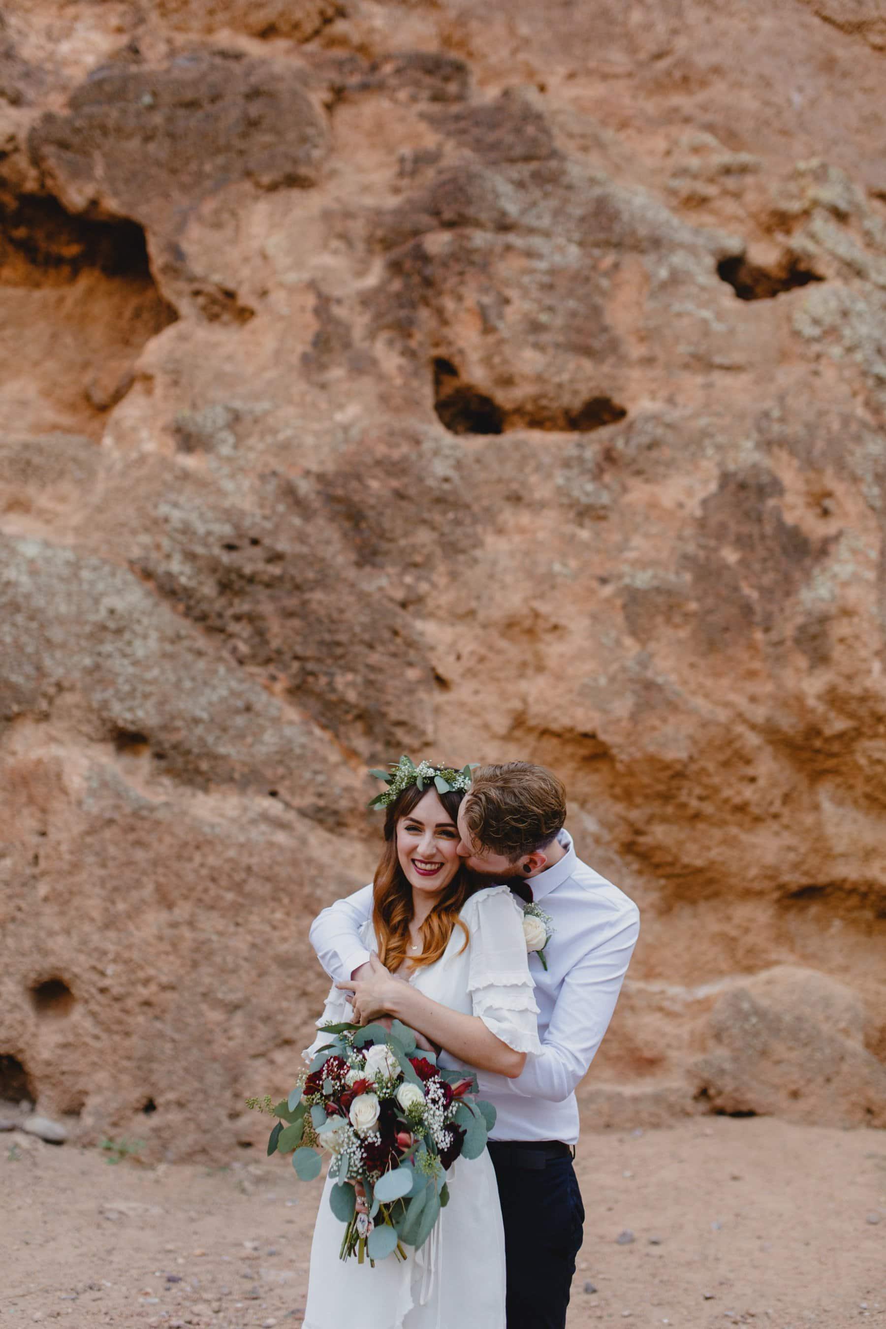 red rocks elopement in Phoenix