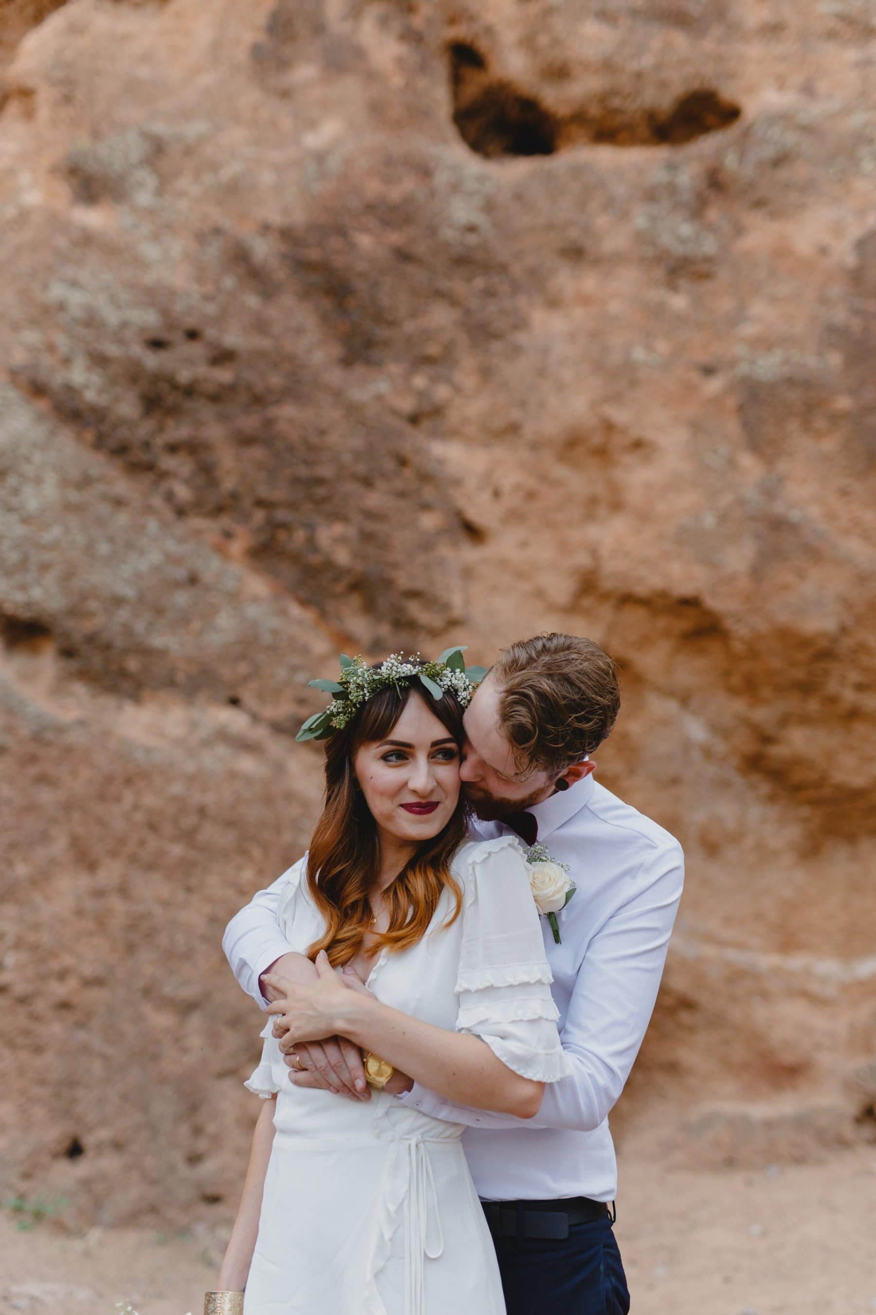 Arizona elopement photos