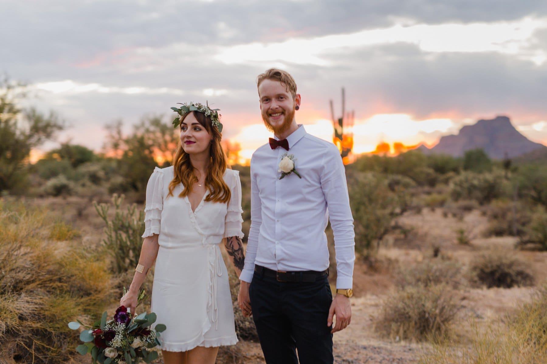 desert elopement location in Phoenix