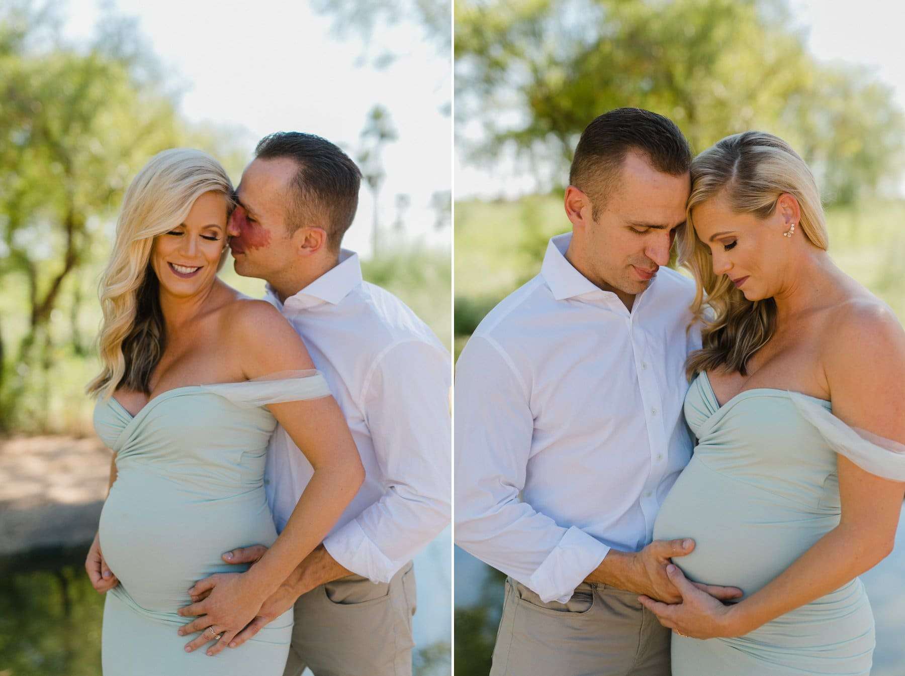Paradise Valley maternity photos