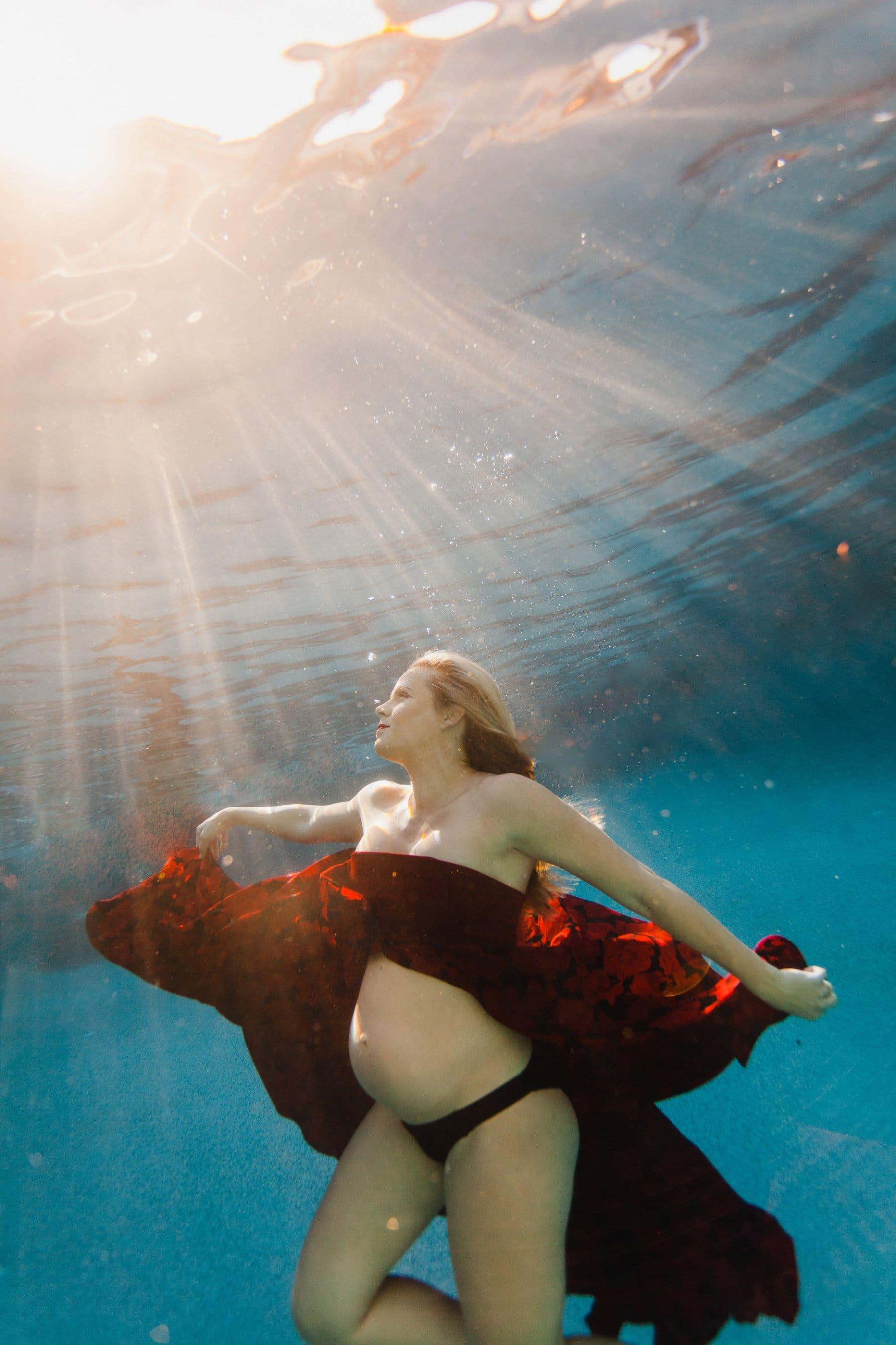 beautiful unique maternity photo ideas in Arizona