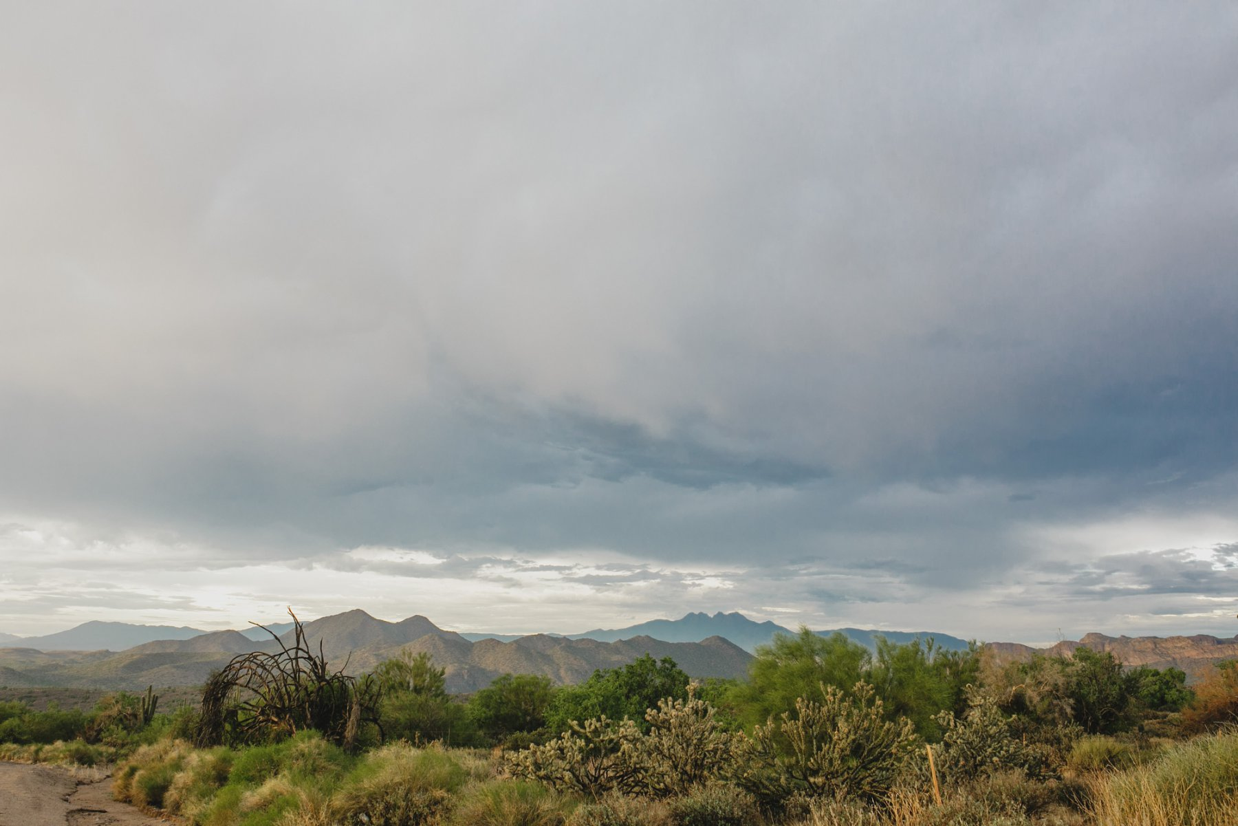 Salt River monsoon storm