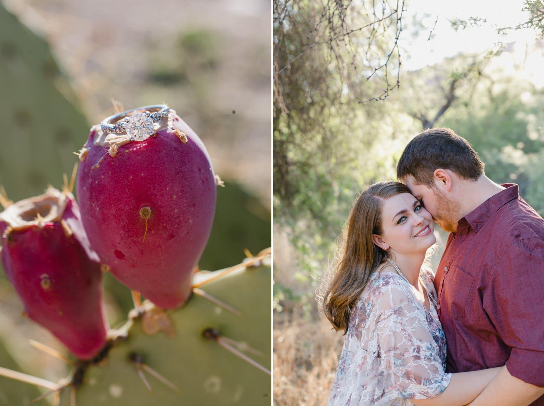 Salt River engagement photos